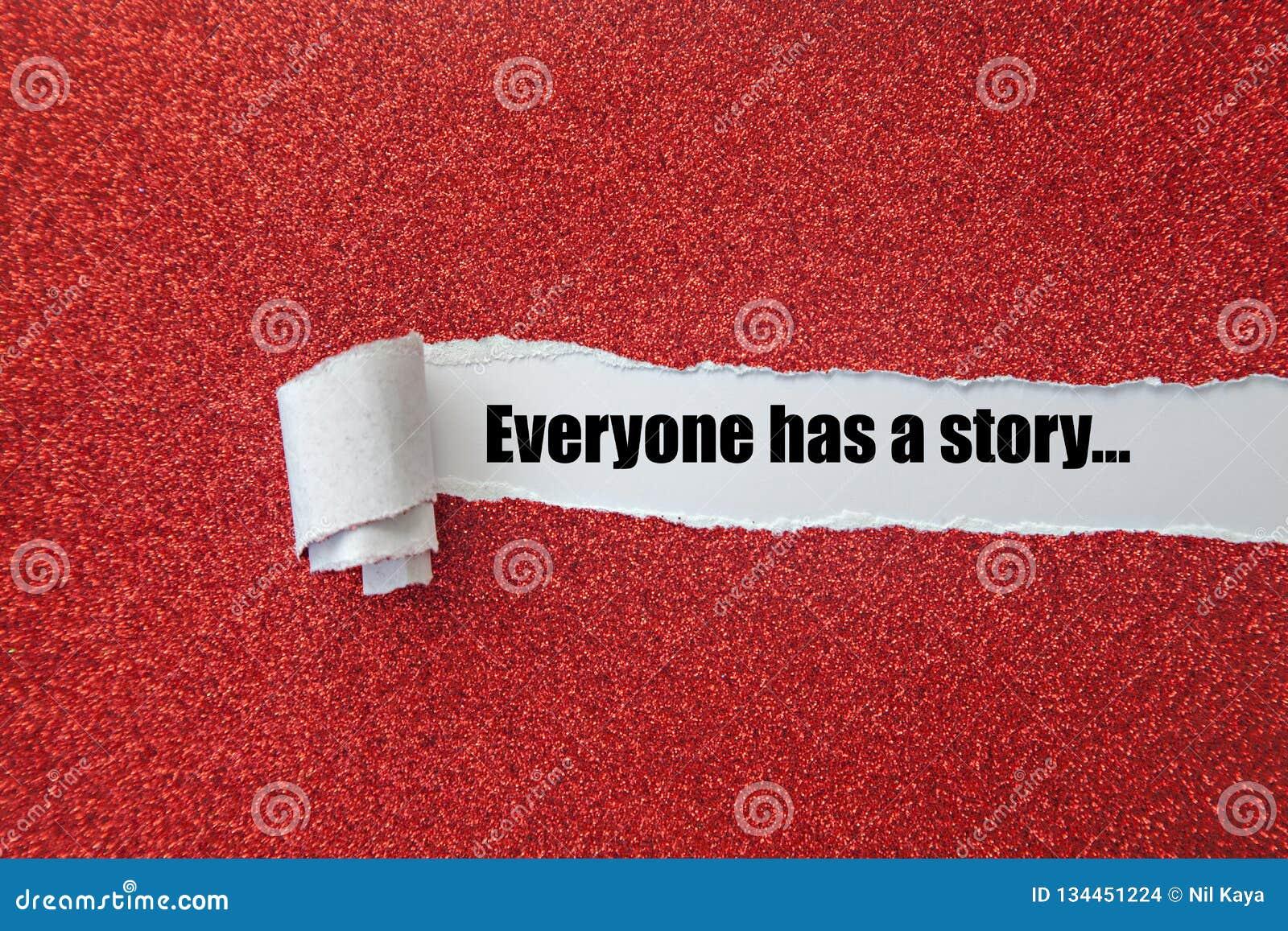 Alla har en berättelse