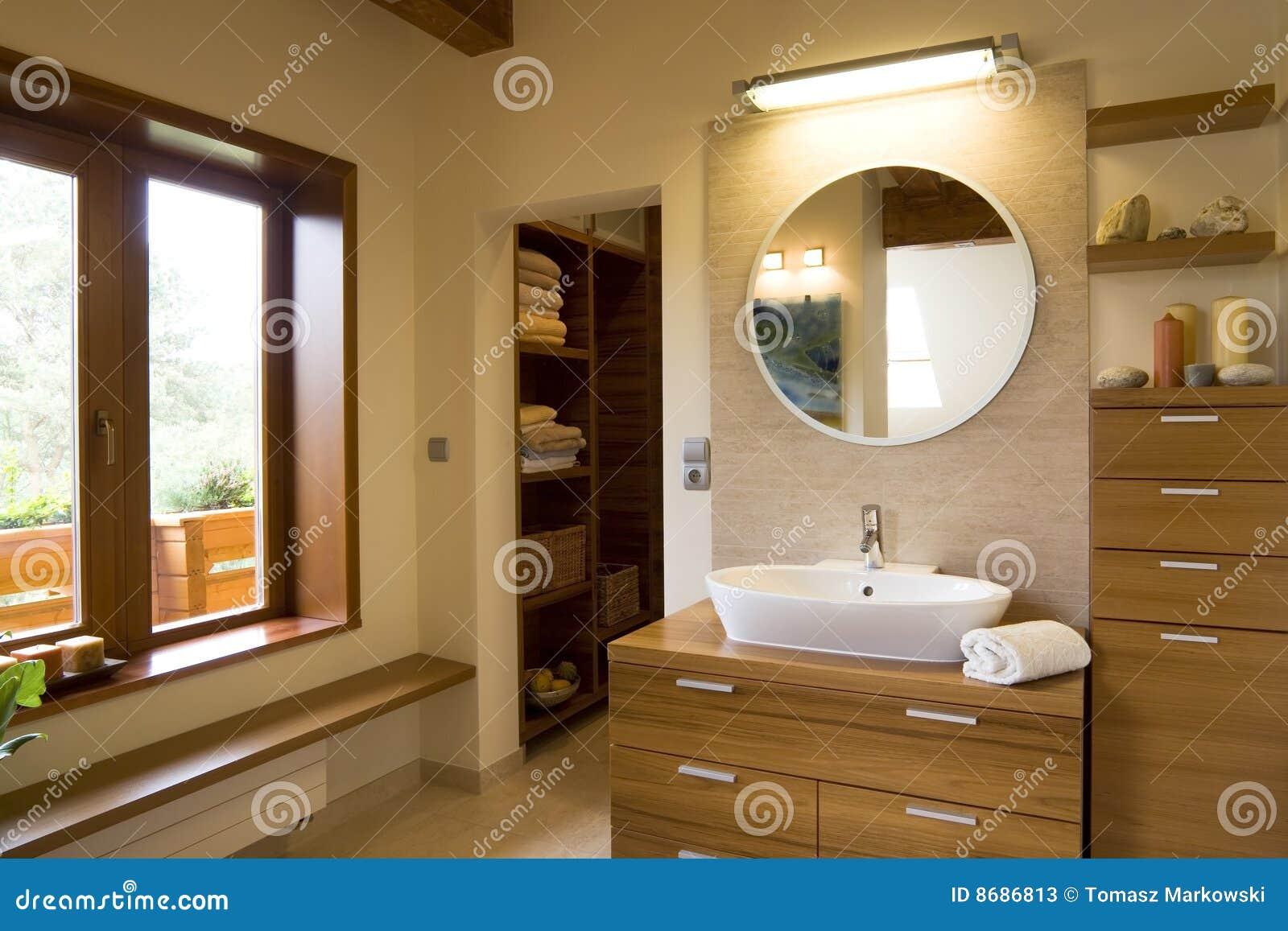 Alla moda moderno interno della stanza da bagno immagine for Stanza da bagno