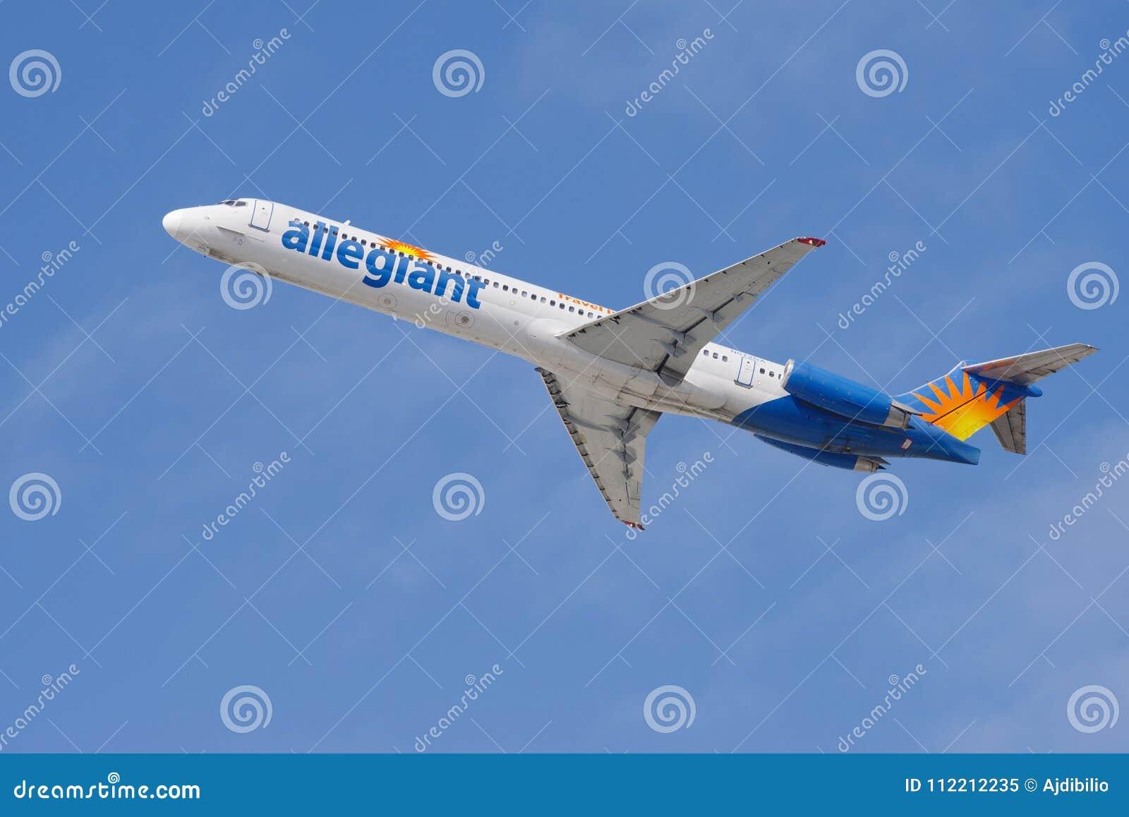 Allegiant воздух McDonnell Douglas MD-83