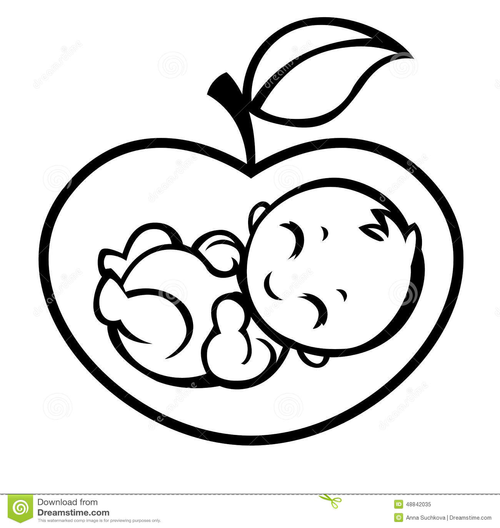 Allegorical Symbol Of Motherhood Stock Vector Illustration Of
