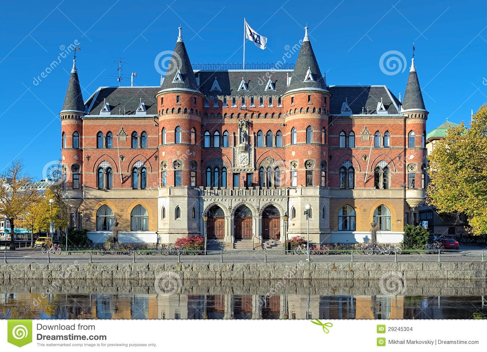 Download Allehandaborgen Em Orebro, Sweden Imagem de Stock Editorial - Imagem de tijolo, arquitetura: 29245304