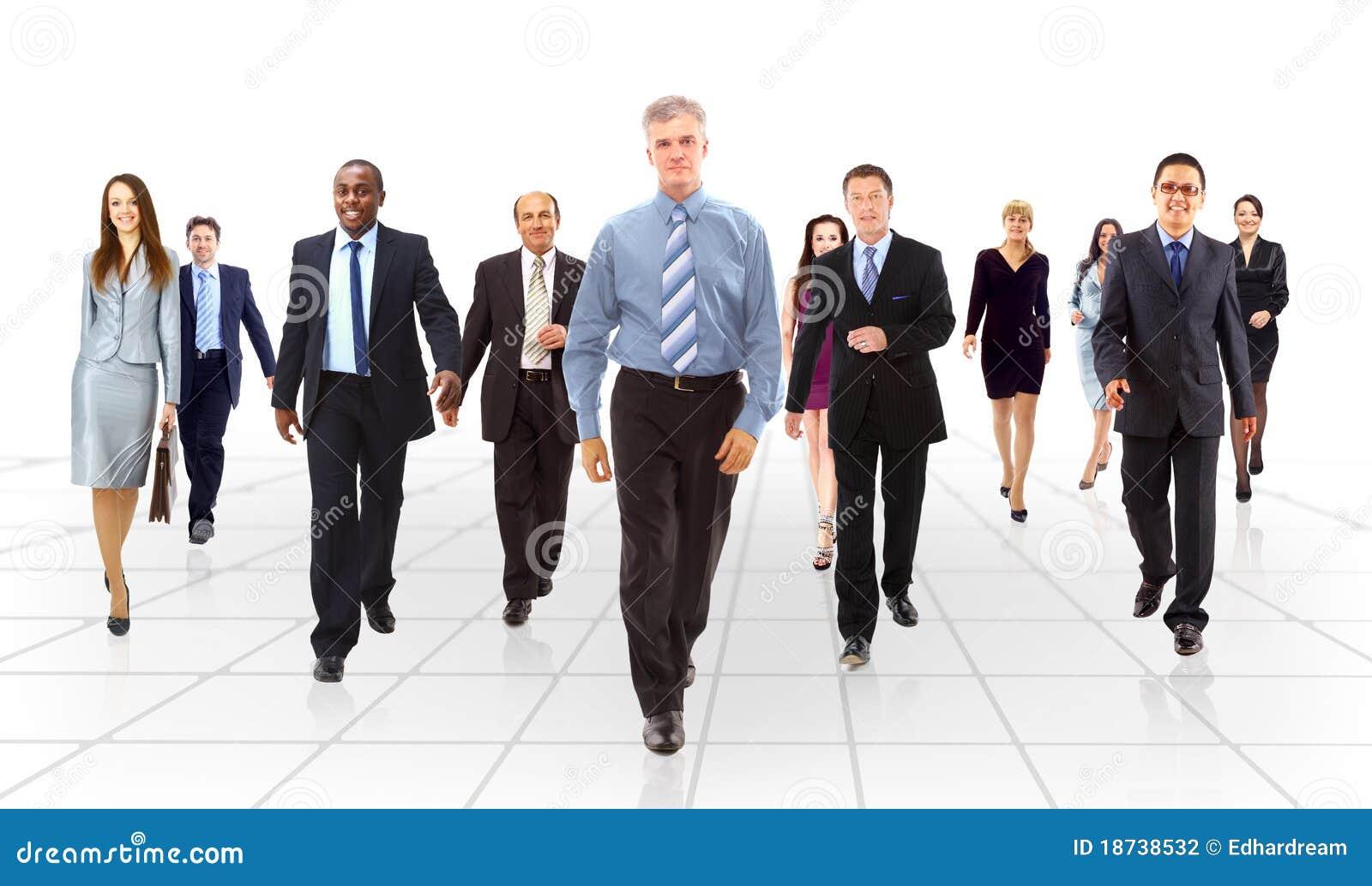 Aller d équipe d affaires