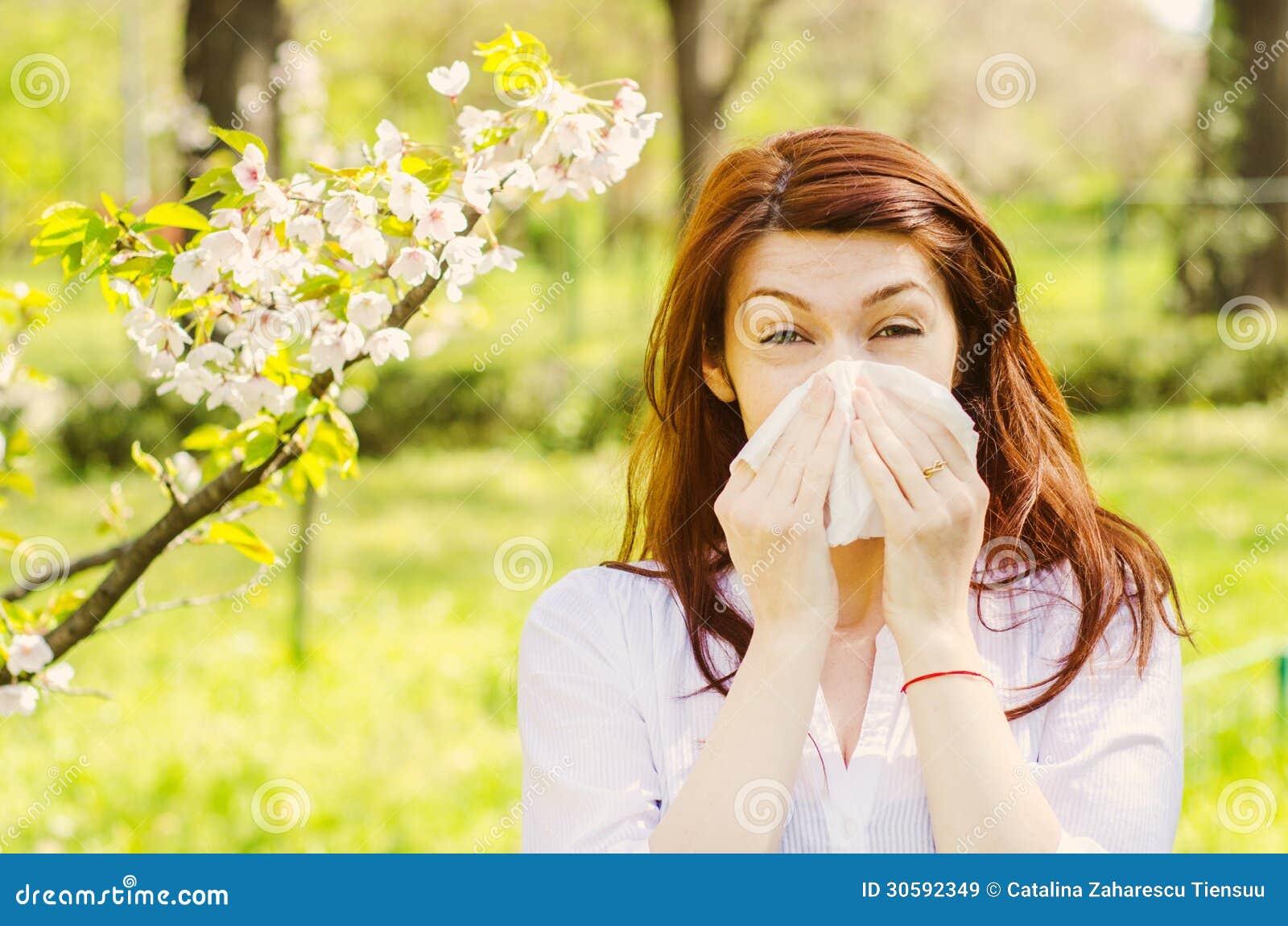 Allergia della primavera