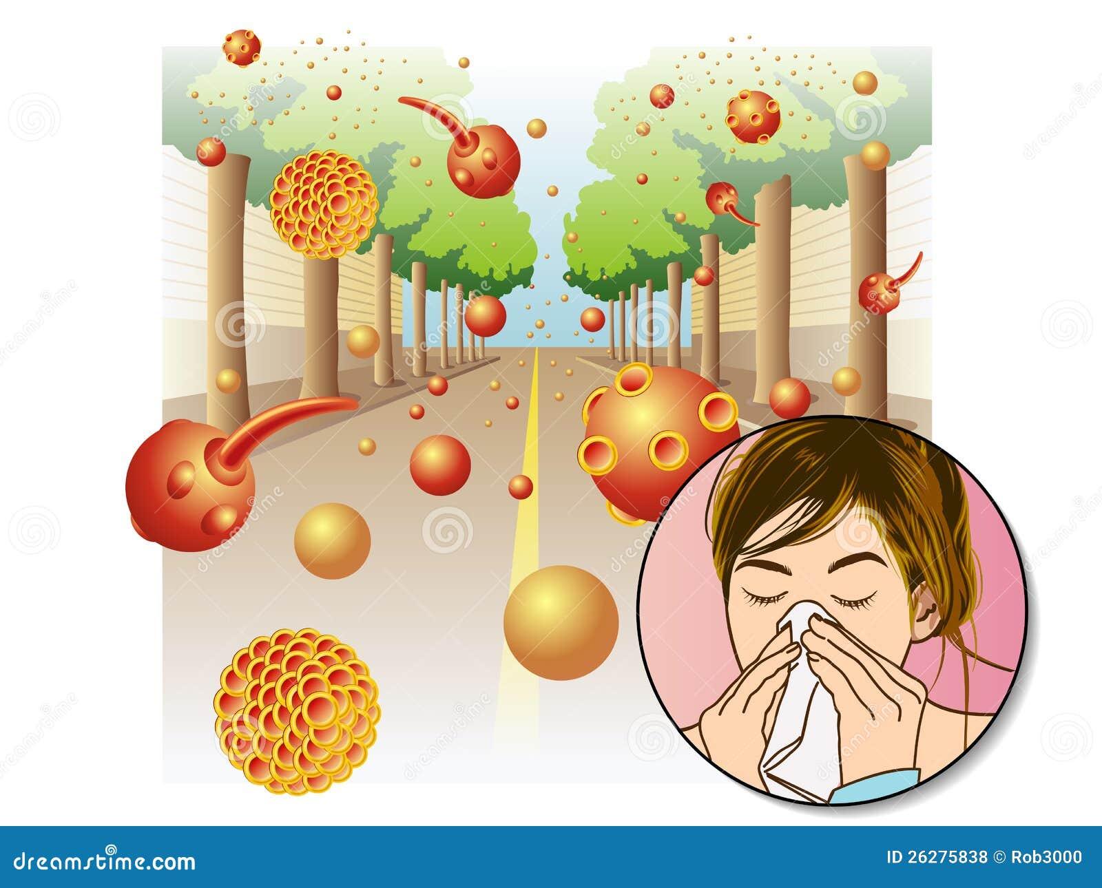 allergie de pollen photos libres de droits image 26275838. Black Bedroom Furniture Sets. Home Design Ideas