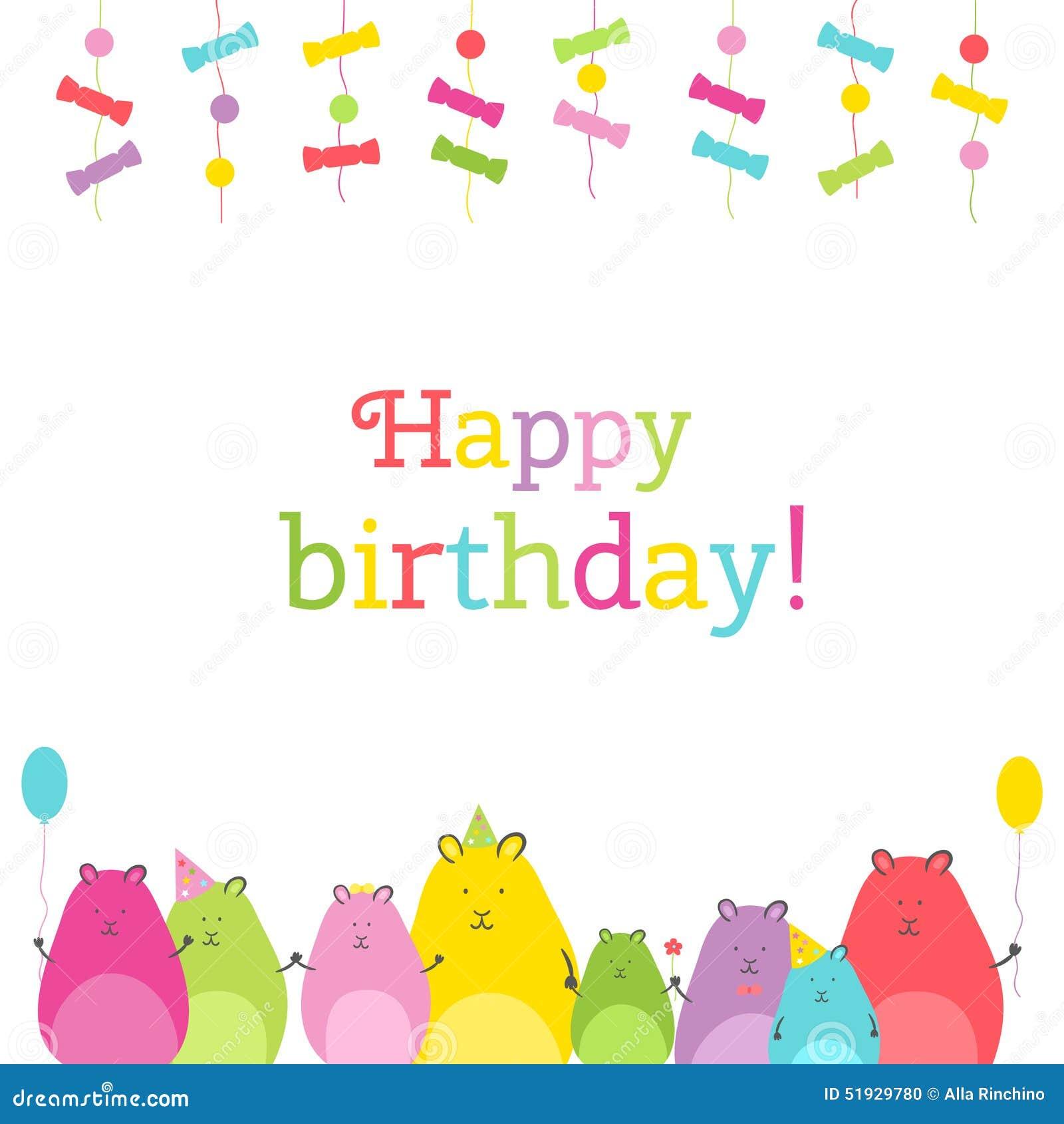Alles Gute Zum Geburtstag Hamster Lustige Wünsche Zum Geburtstag