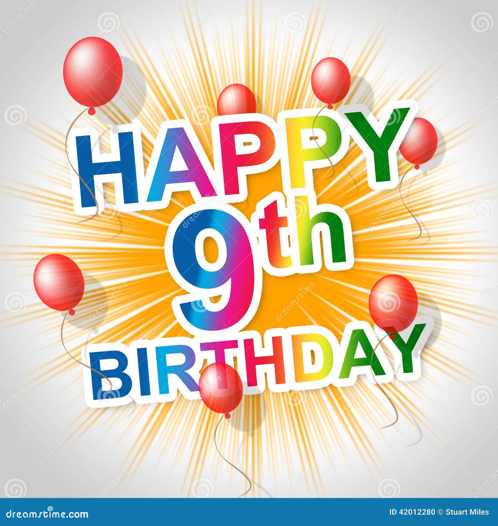 Alles Gute Zum Geburtstag Zeigt Die Partei Begluckwunschung Und Die