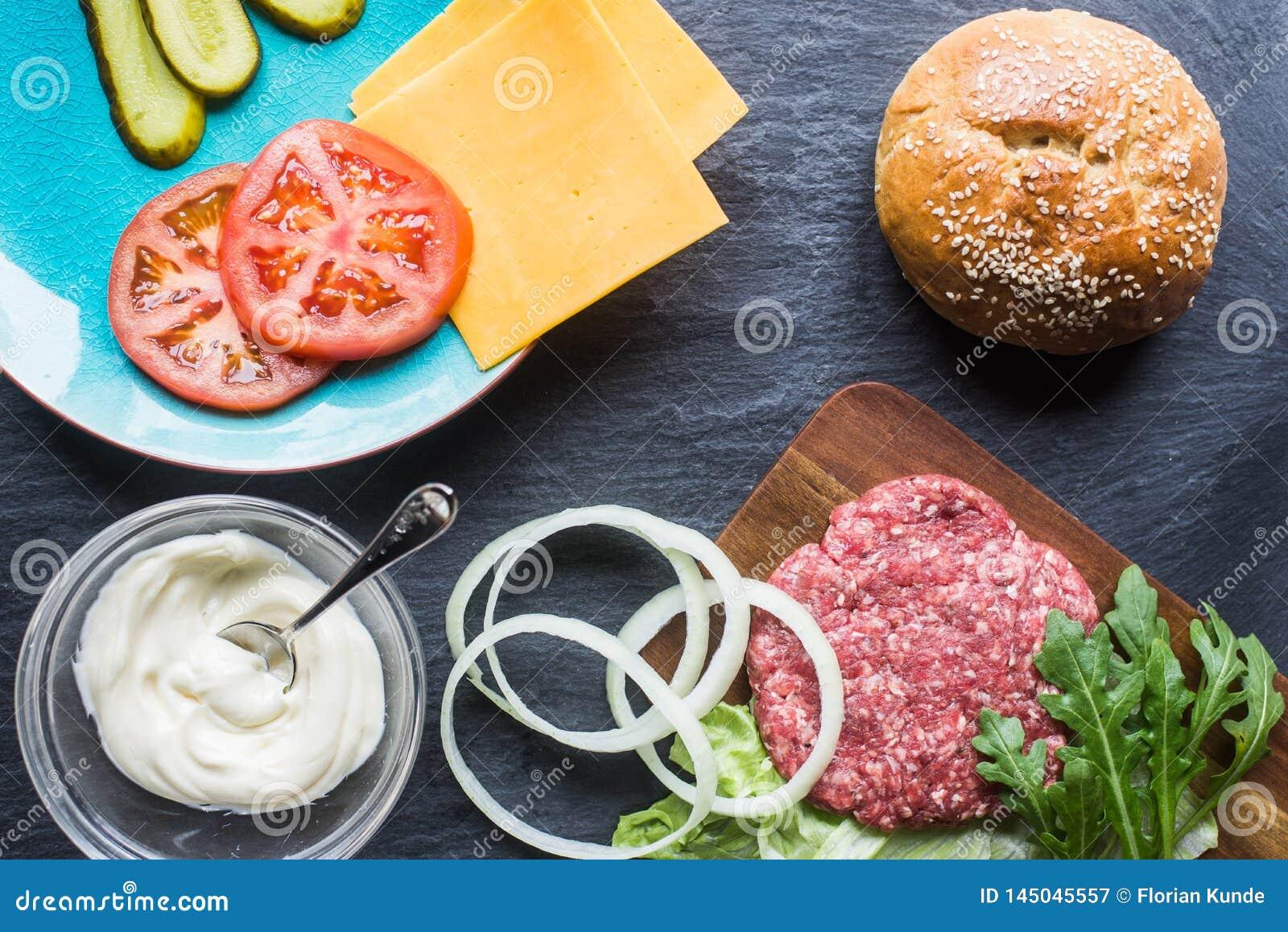 Alles u vereist voor een goede Hamburger