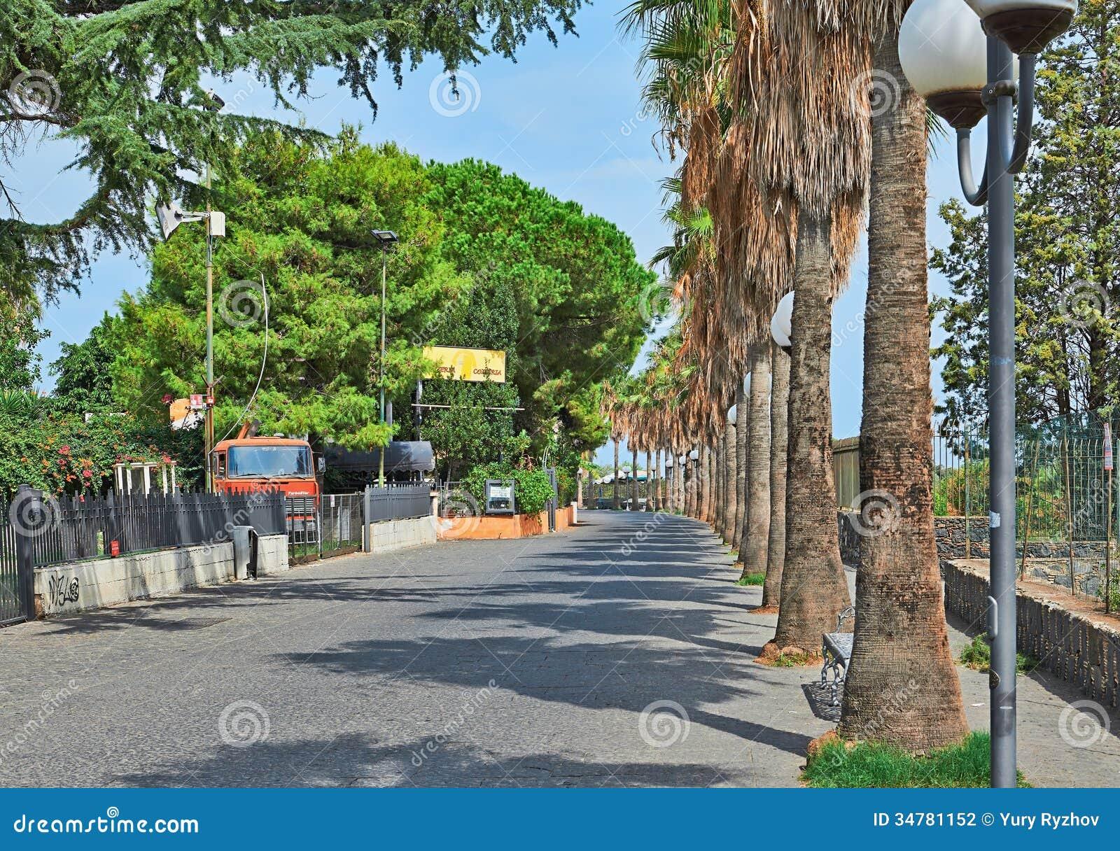 Giardini Naxos Italy  city photo : giardini naxos italy september street viale stracina giardini naxos ...