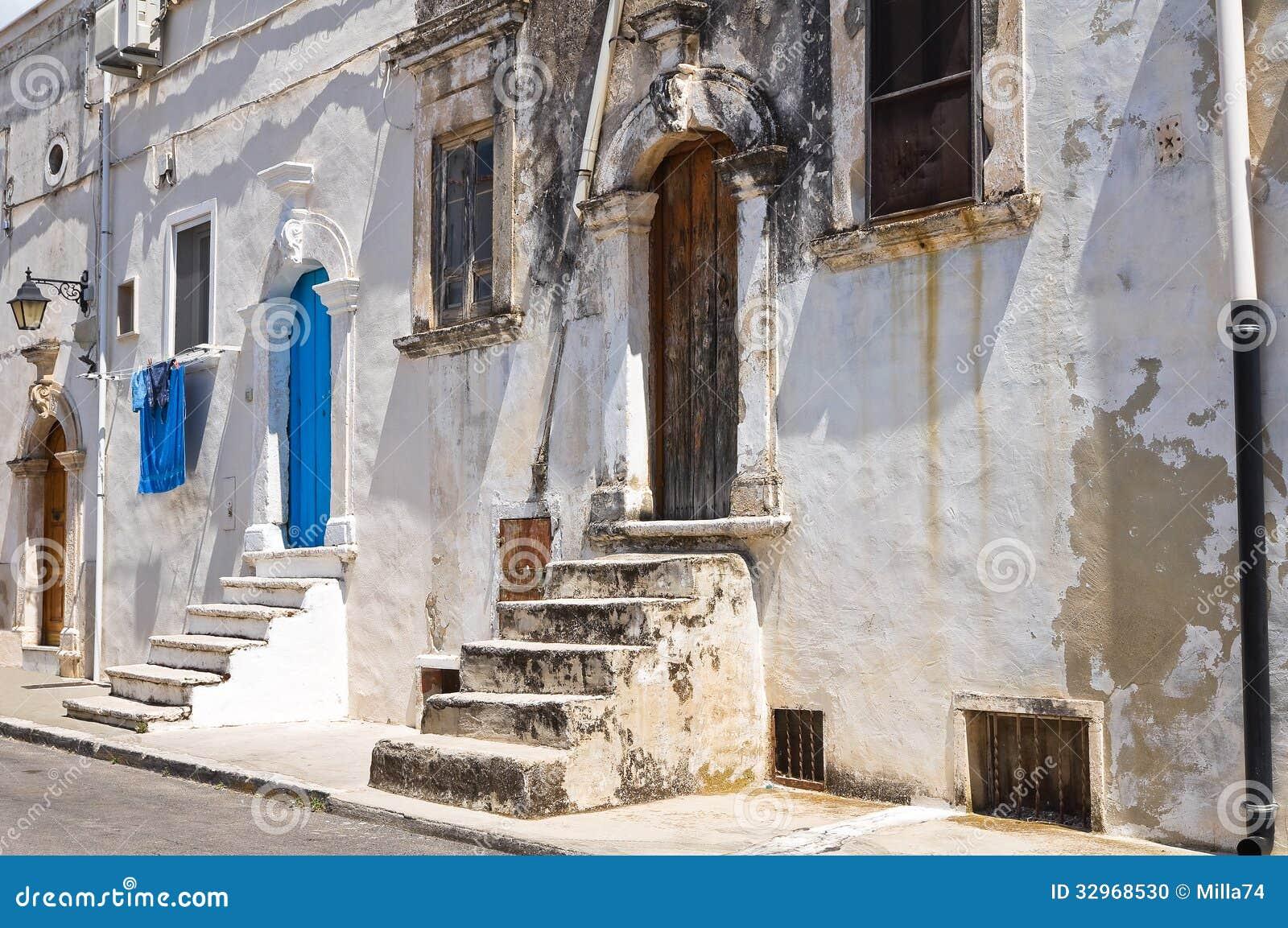 Mattinata Italy  City new picture : Alleyway. Mattinata. Puglia. Italy. Stock Photo Image: 32968530