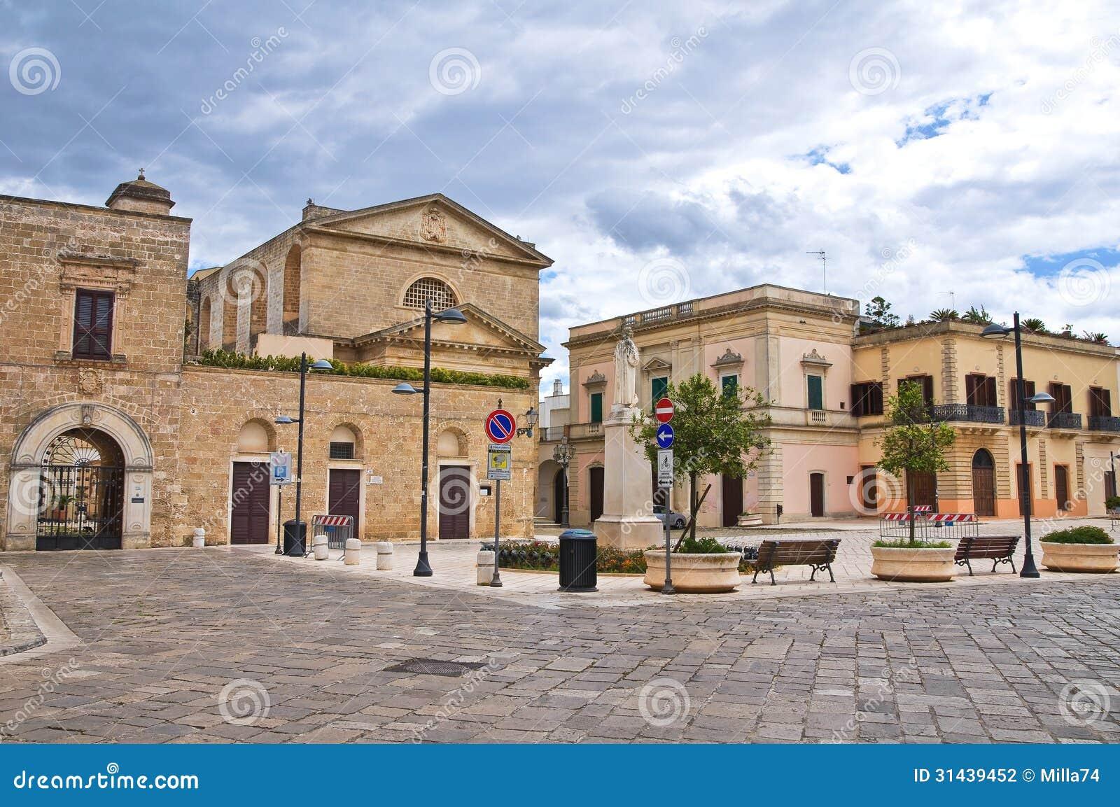 Alleyway. Ugento. Puglia. Włochy.