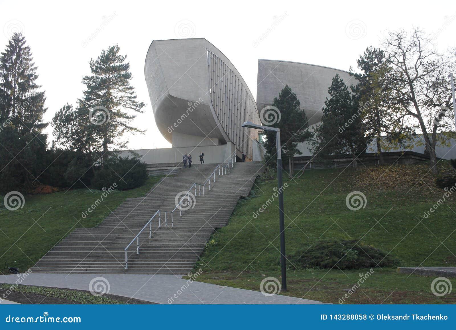 Allgemeine Ansicht des Museums des slowakischen nationalen Aufstiegs