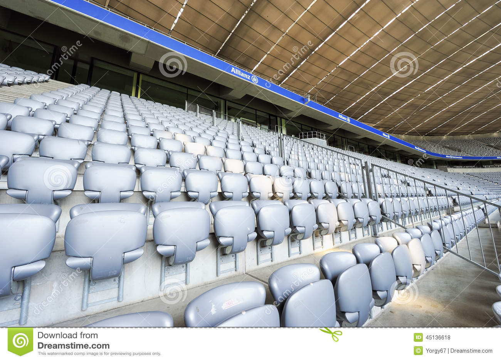 allianz arena stadium editorial stock photo image of arena 45136618. Black Bedroom Furniture Sets. Home Design Ideas