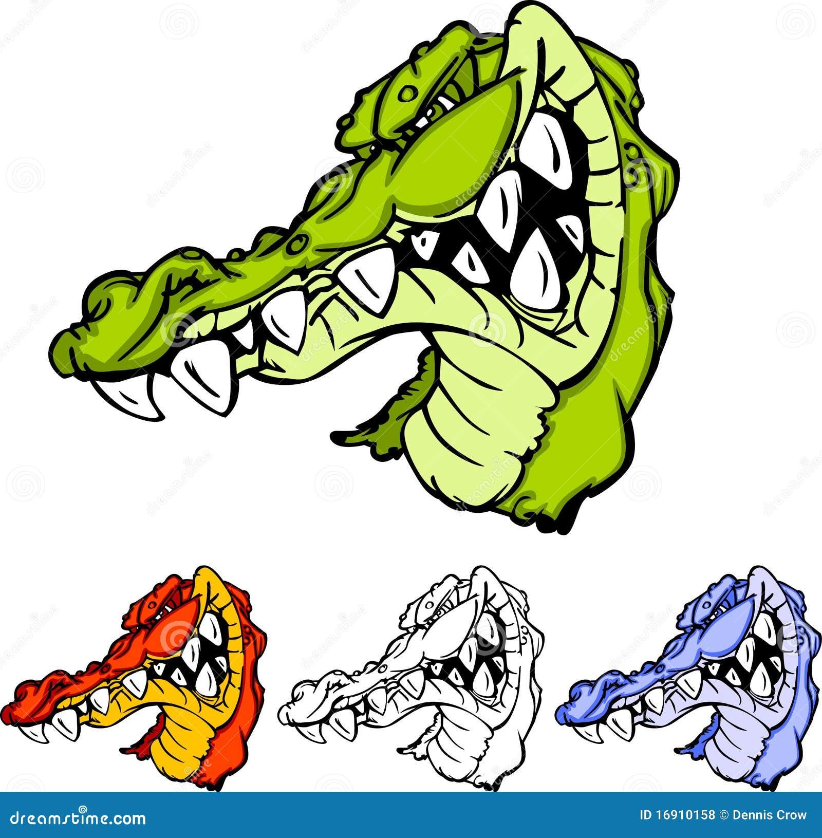 Alligator / Gator Head Logo