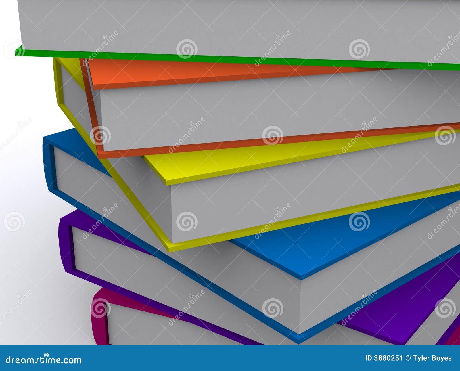 Allineamento dei libri 3d