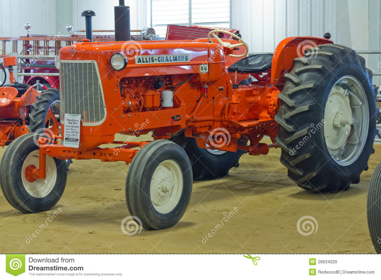 Allis Chalmers D 18 Farm Tractor Download Preview