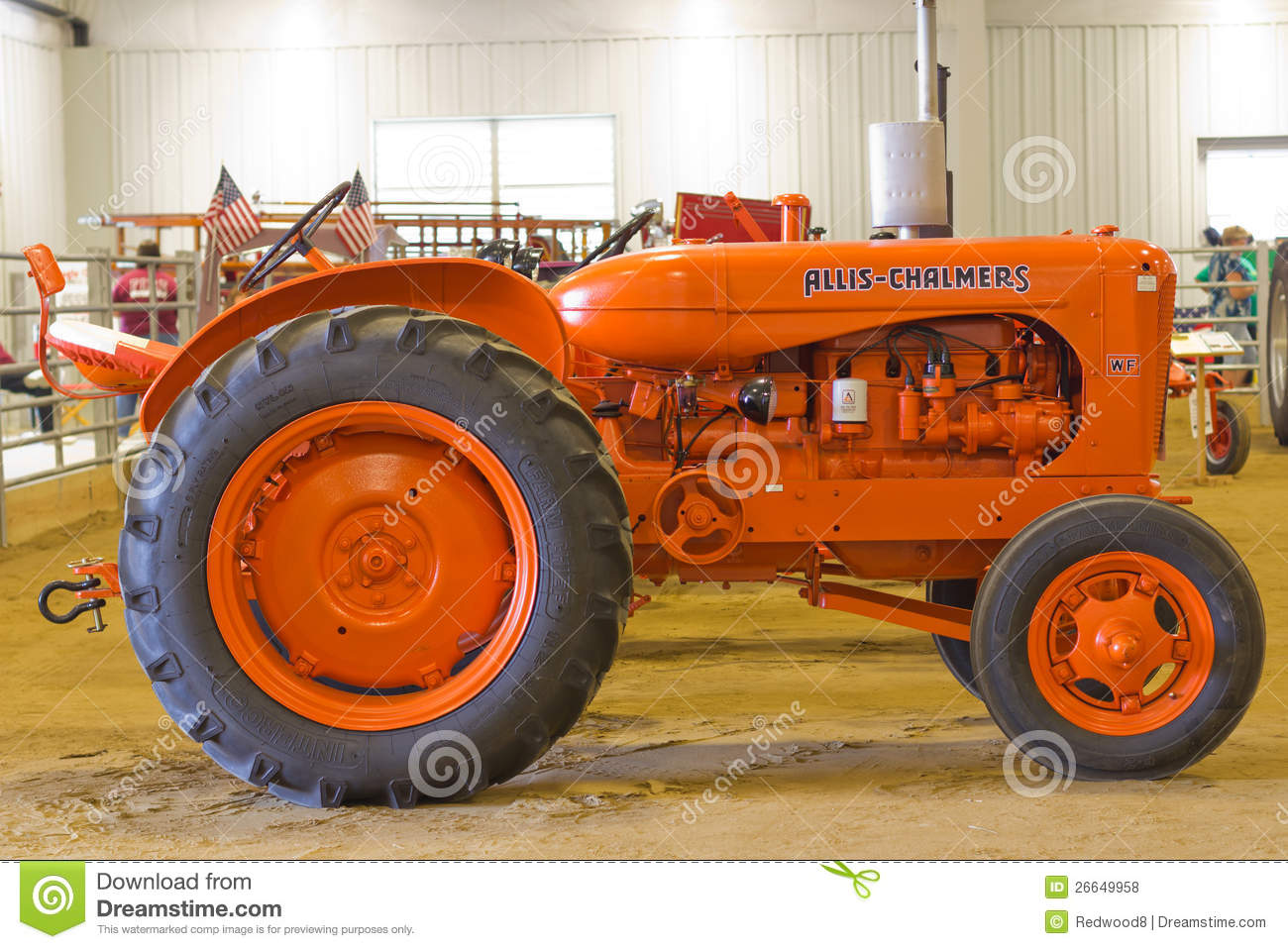 Allis Chalmers Model Wf Farm Tractor Download Preview