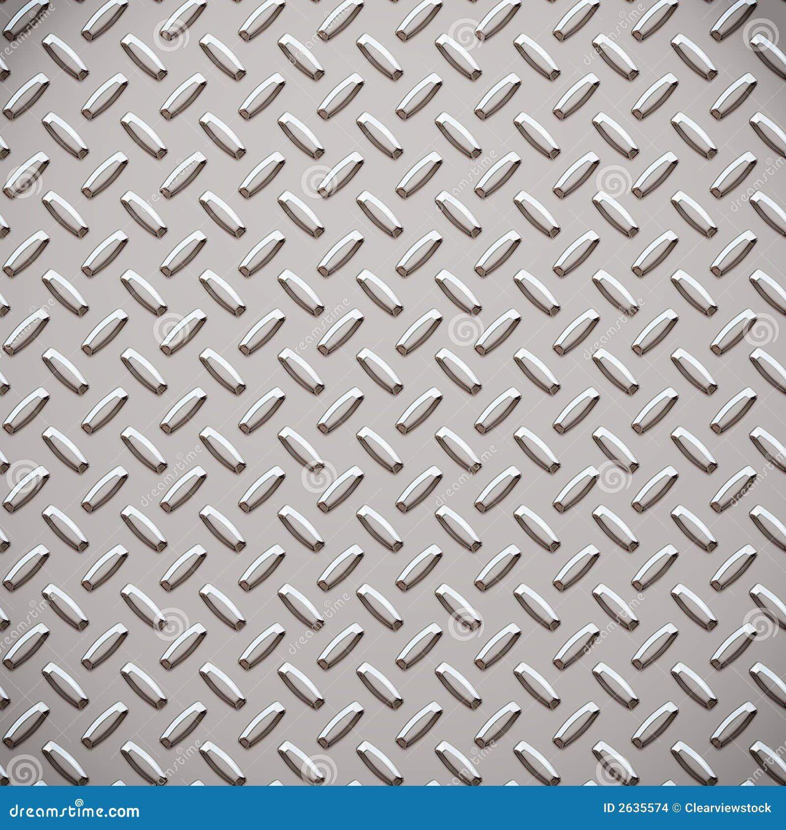 Alloy Diamond Plate Metal Stock Vector Image Of Metal