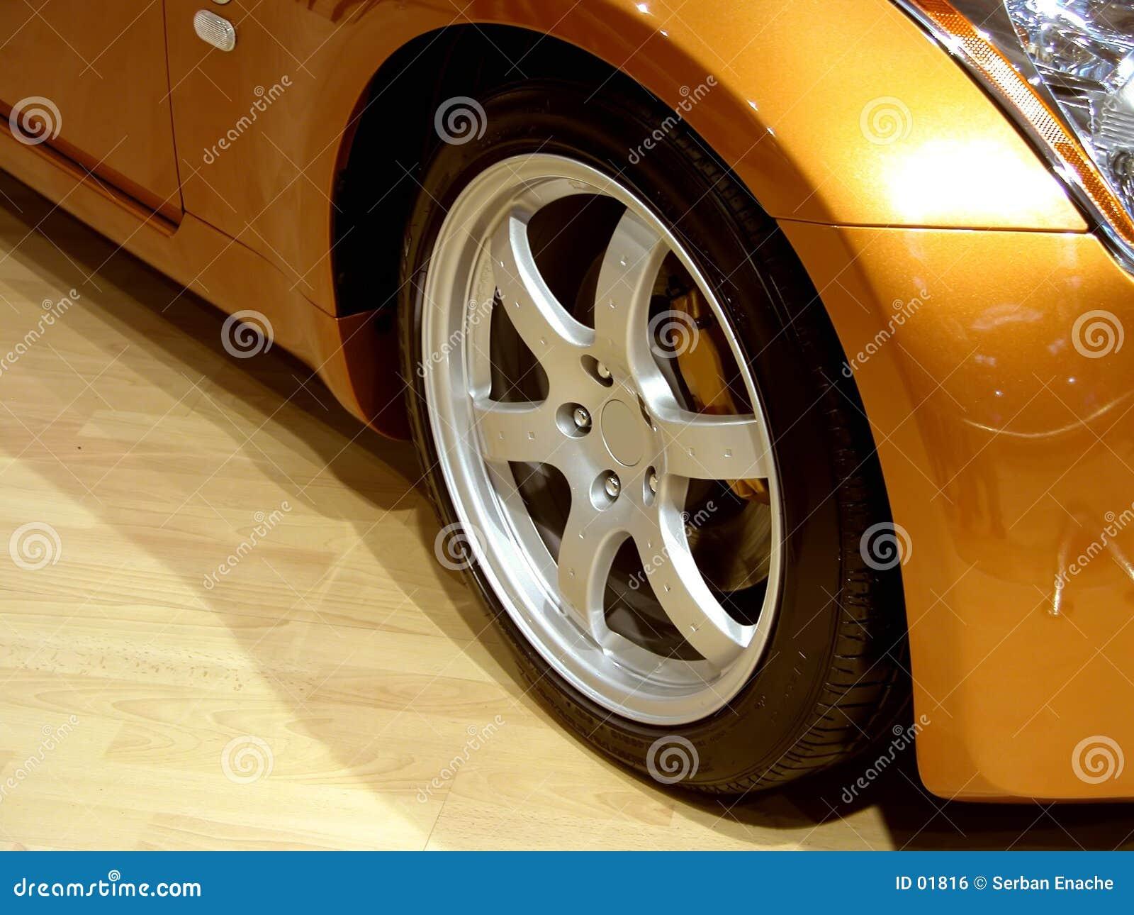 Download Alloy wheel stock photo. Image of rubber, headlight, spoiler - 1816