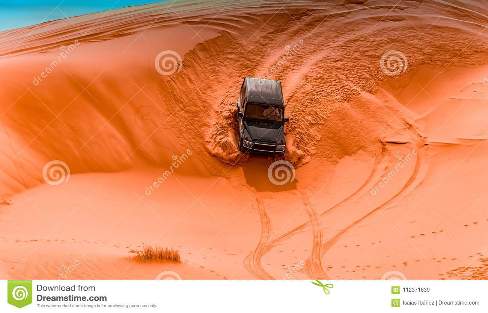 Allradfahrzeuge und Dünen