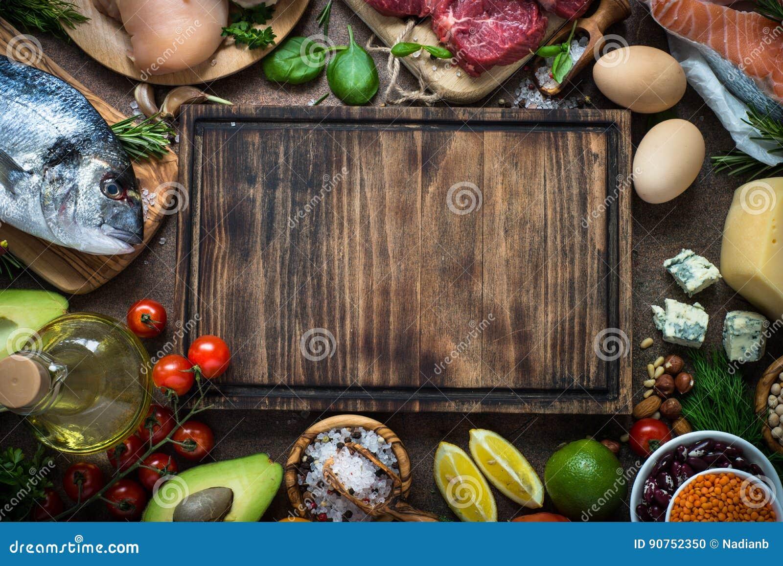 Allsidigt banta Organisk mat för sund näring