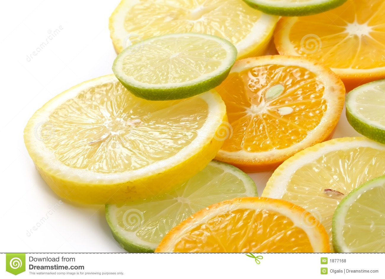 Allsorts-limette citron, citron, mandarine