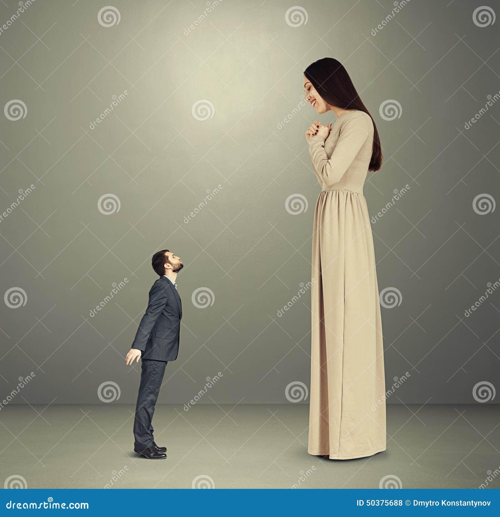 women looking for big men