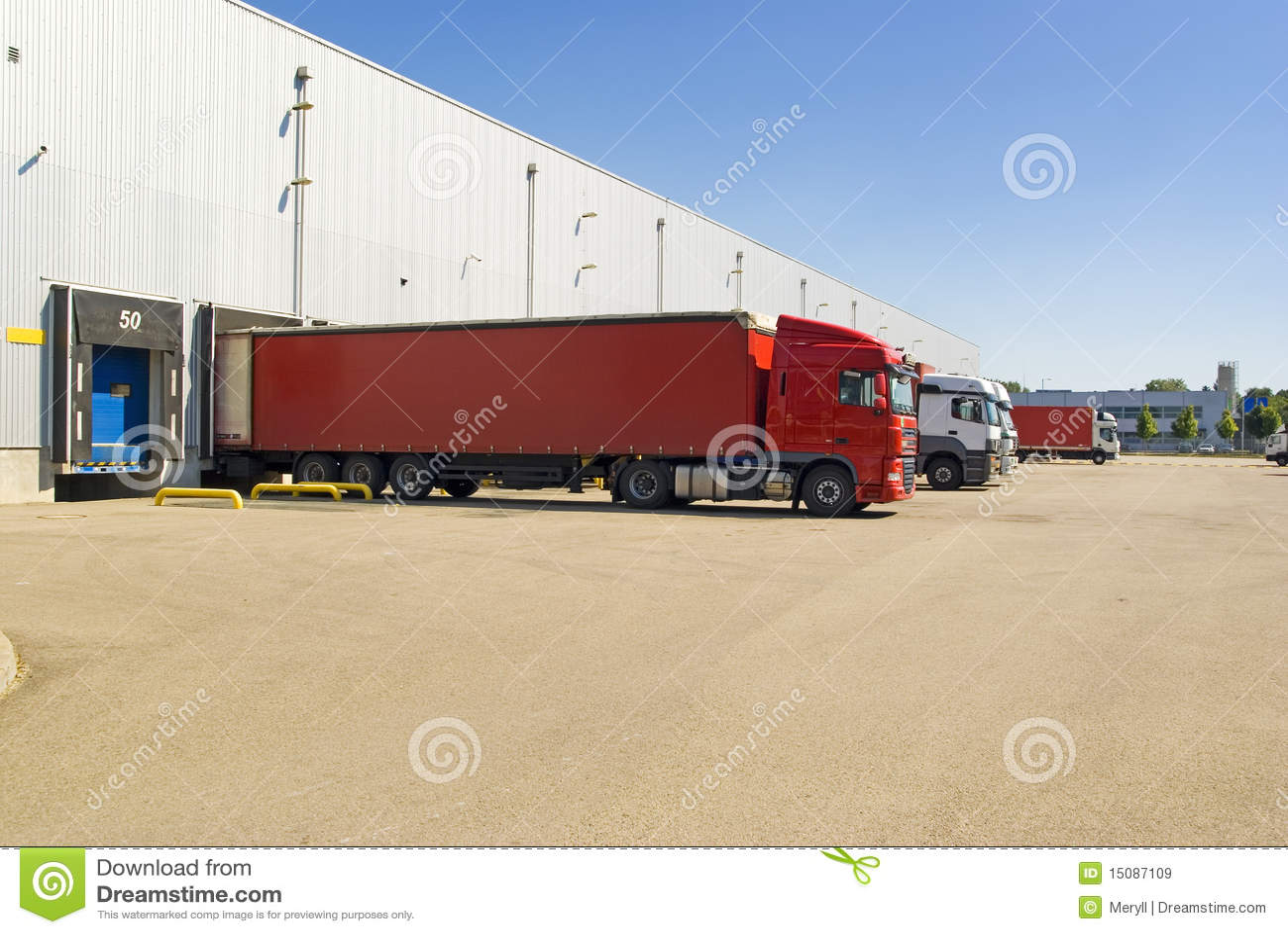 Almacén, carro, fondo del transporte