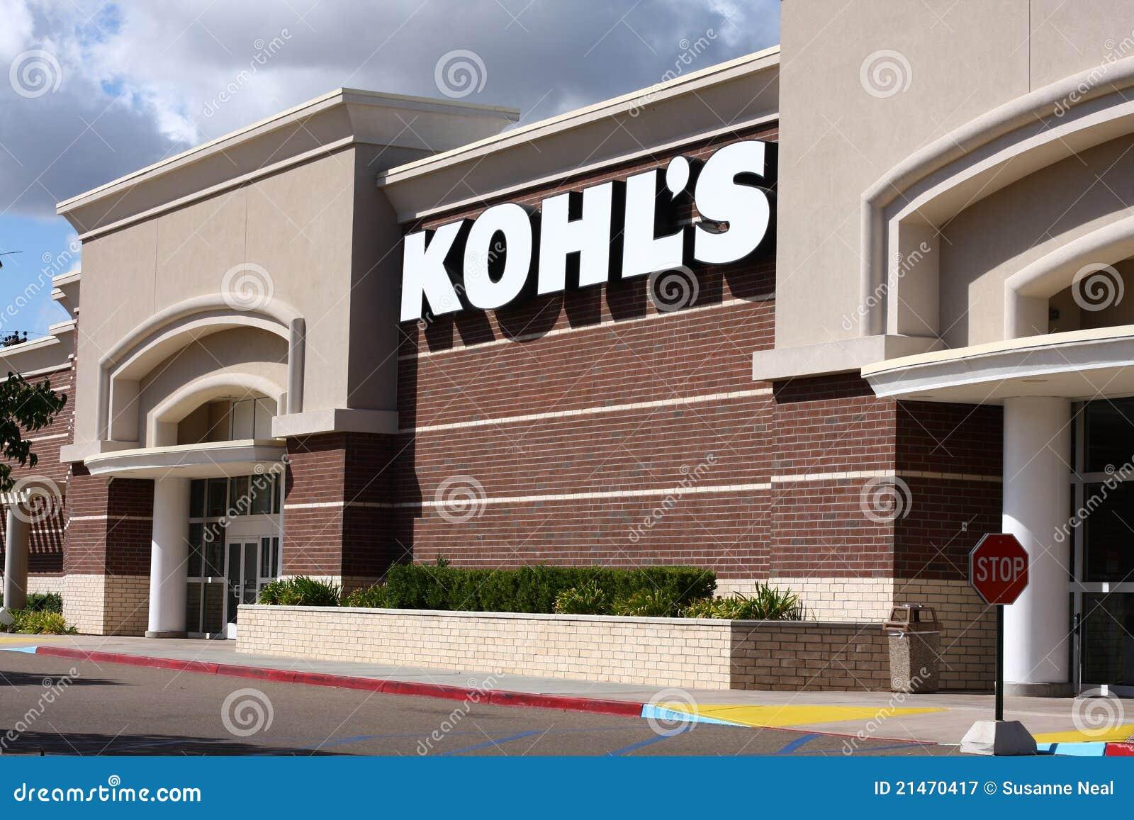 Almacén grande de un más nuevo Kohl