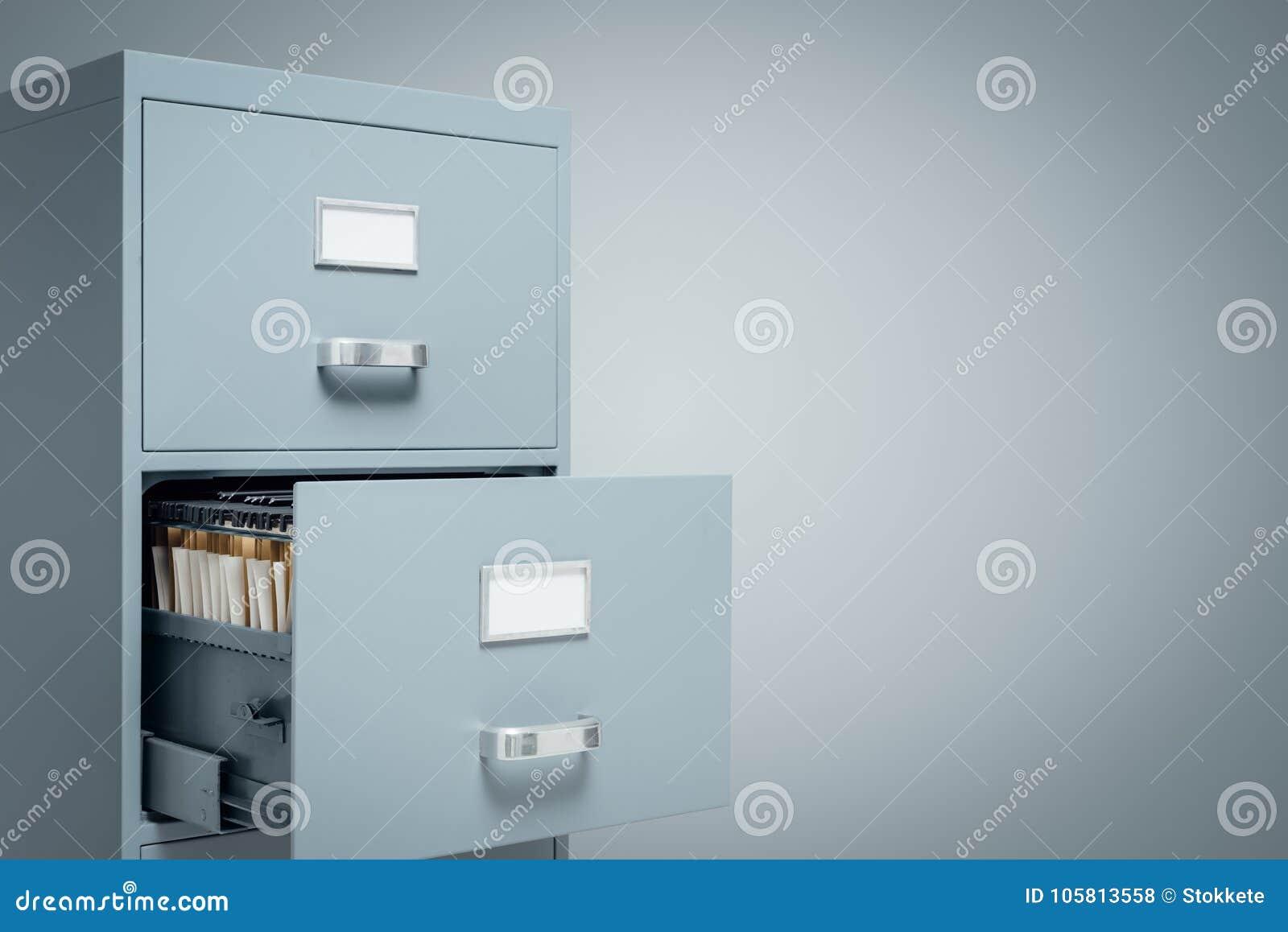 Almacenamiento De Los Cabinetes De Archivo Y De Datos