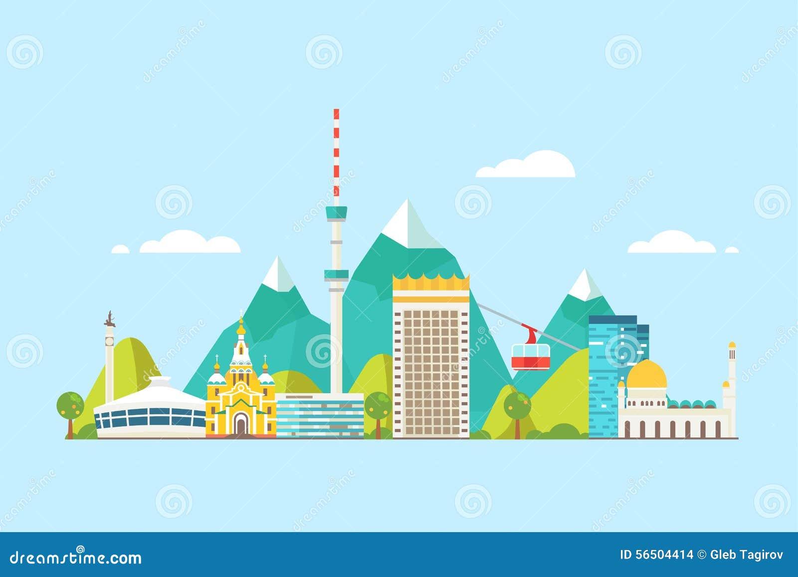 Almaty abstrakt begrepphorisont