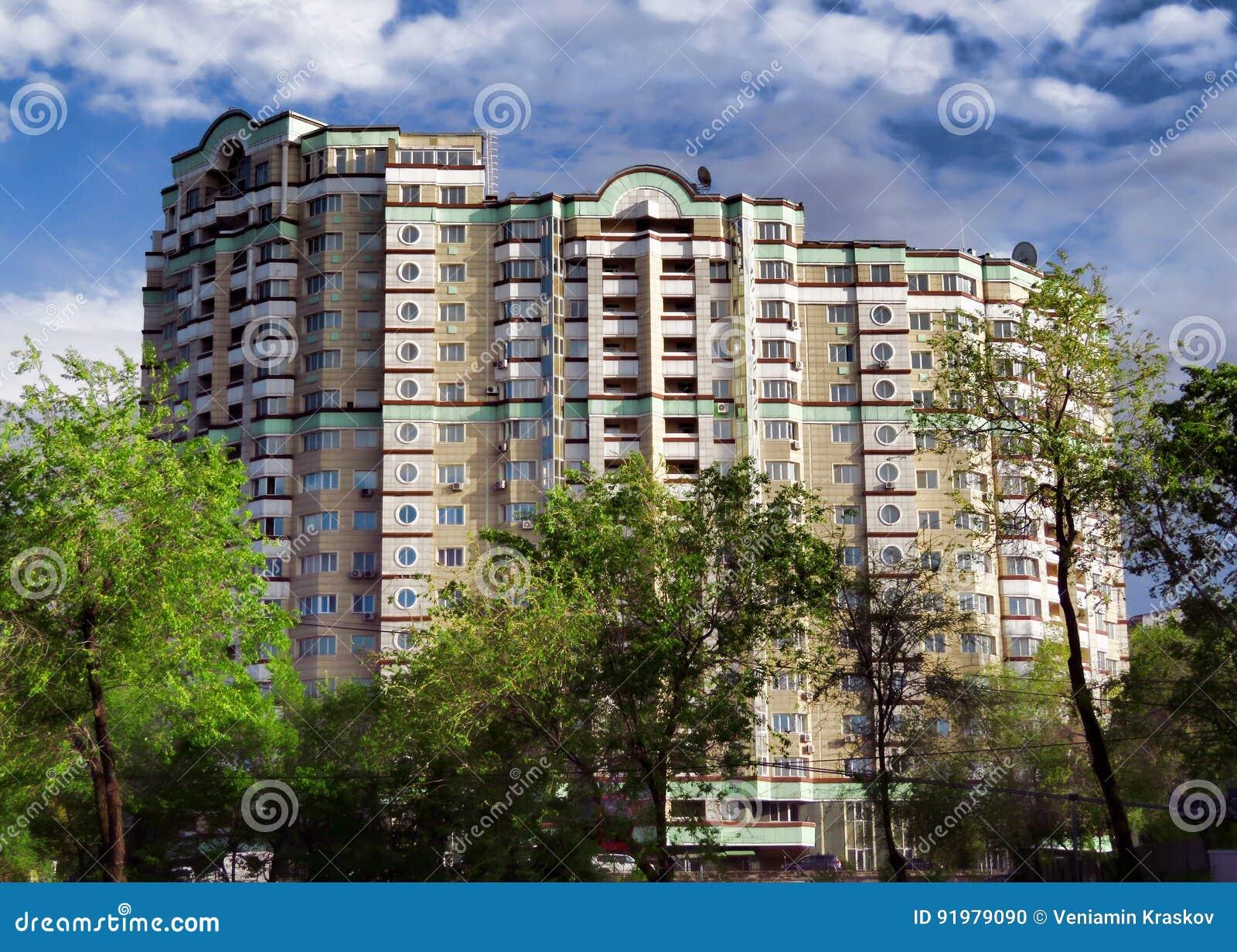 Almaty - modern arkitektur