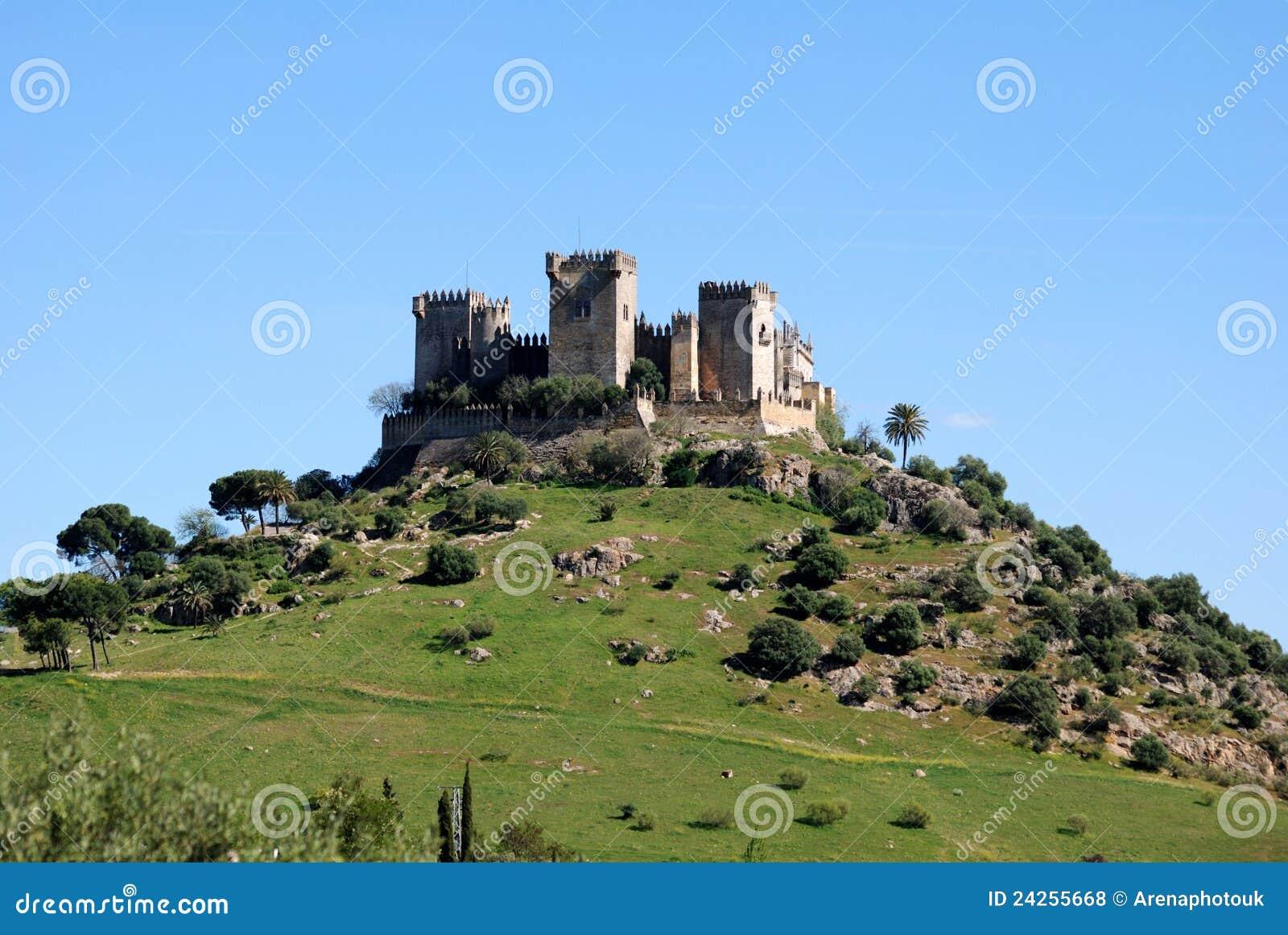 Almodovar κάστρο del Ρίο Ισπανία