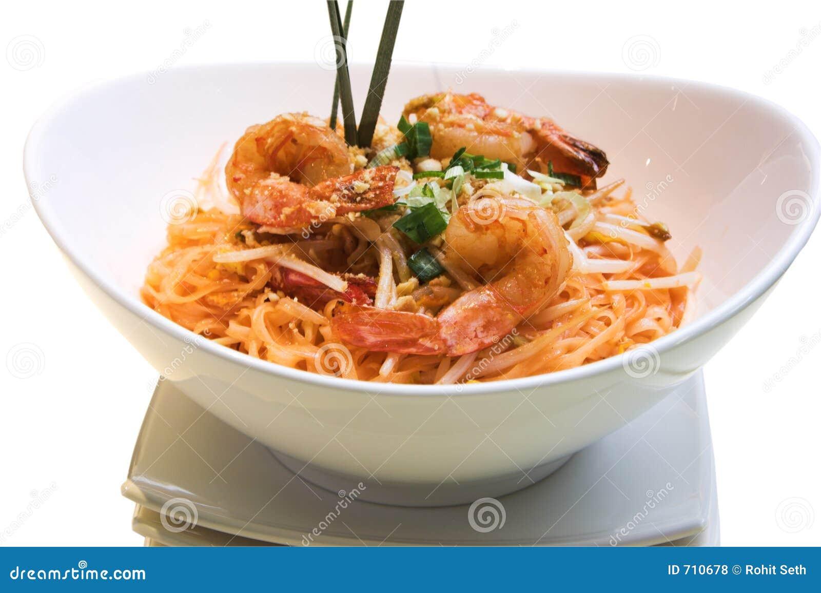 Almofada do camarão tailandesa
