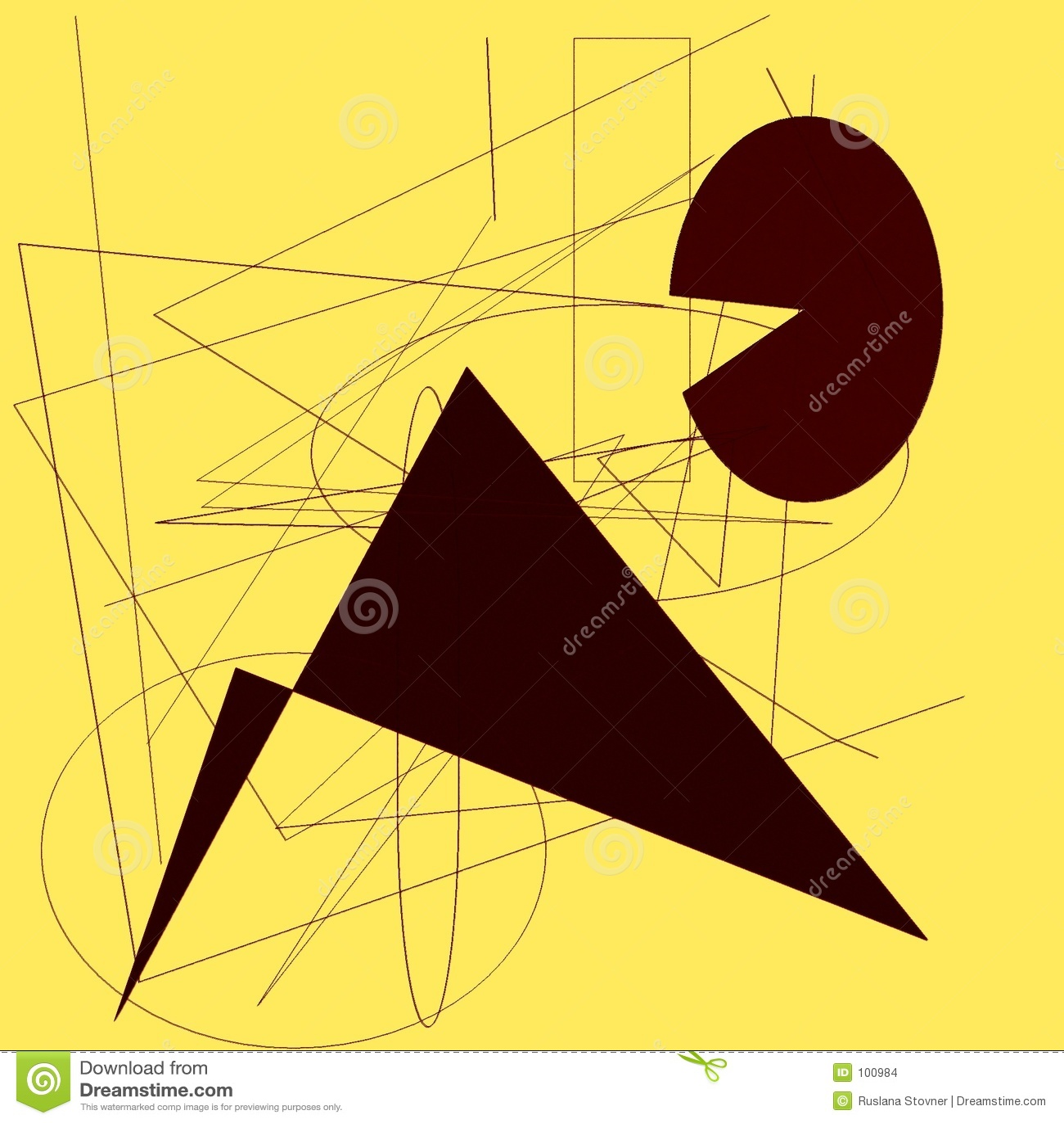 Almofada do desenho com formas