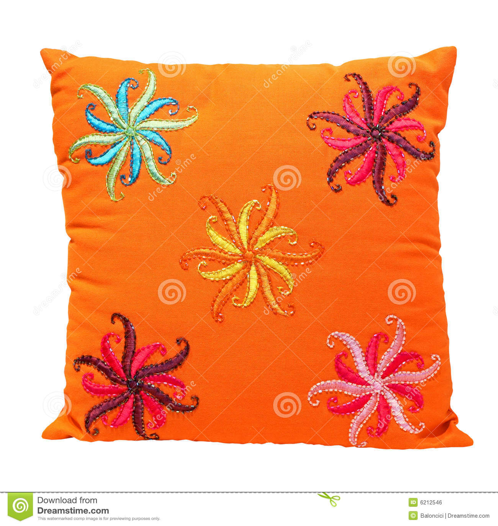 Almohadilla anaranjada