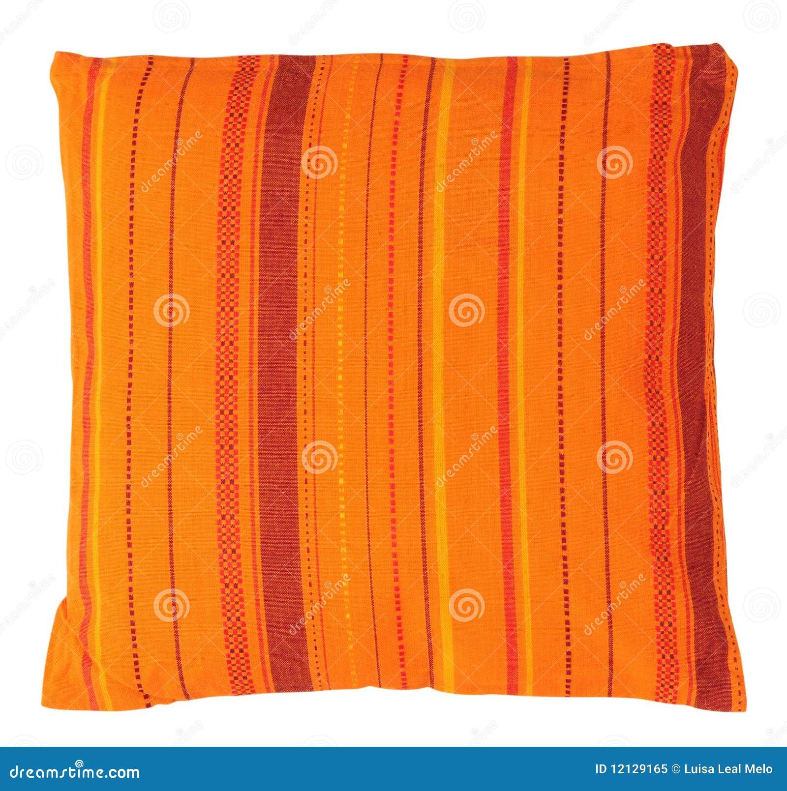 Almohadilla anaranjada. Aislado