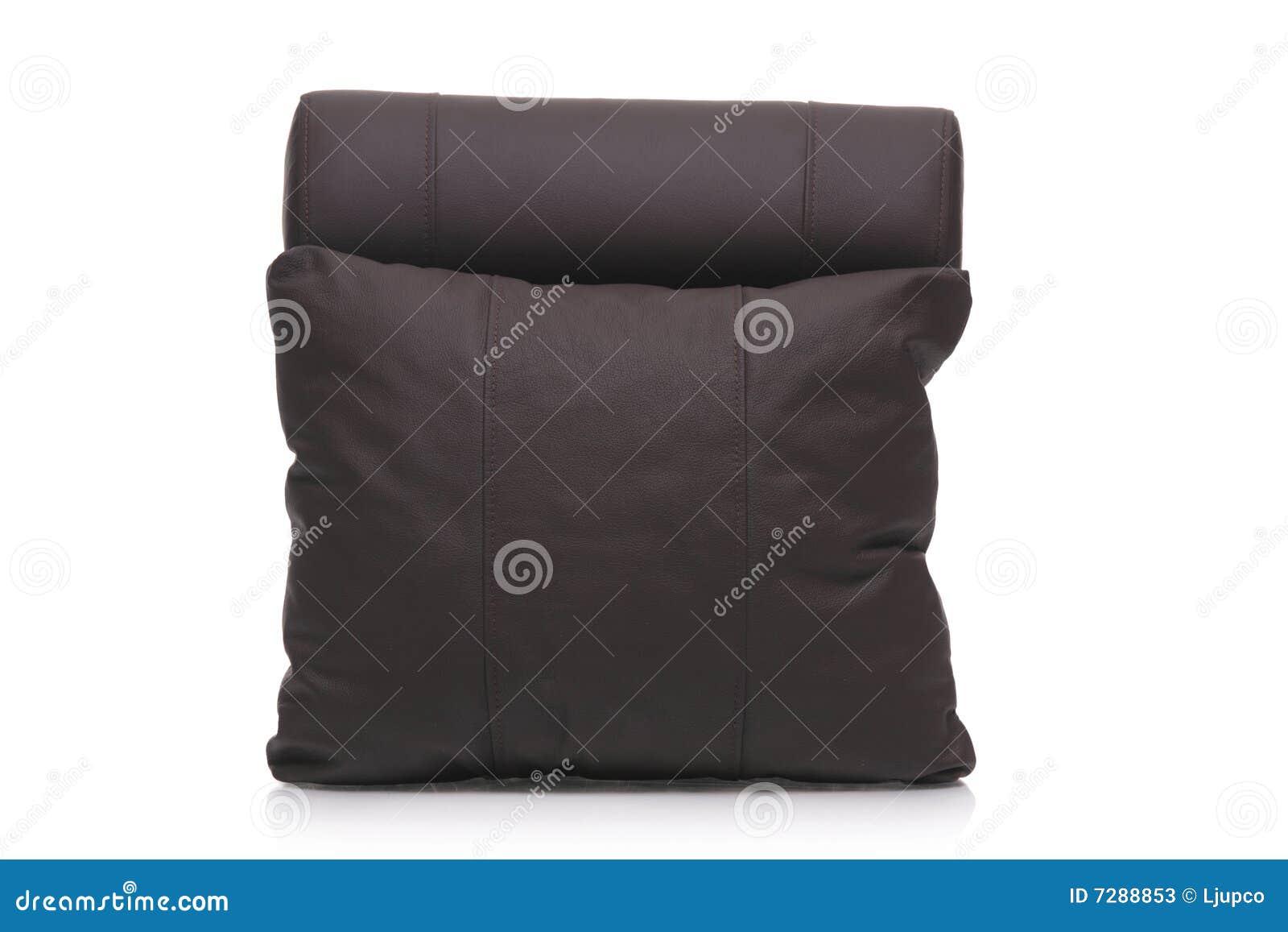 Almohadilla de cuero negra