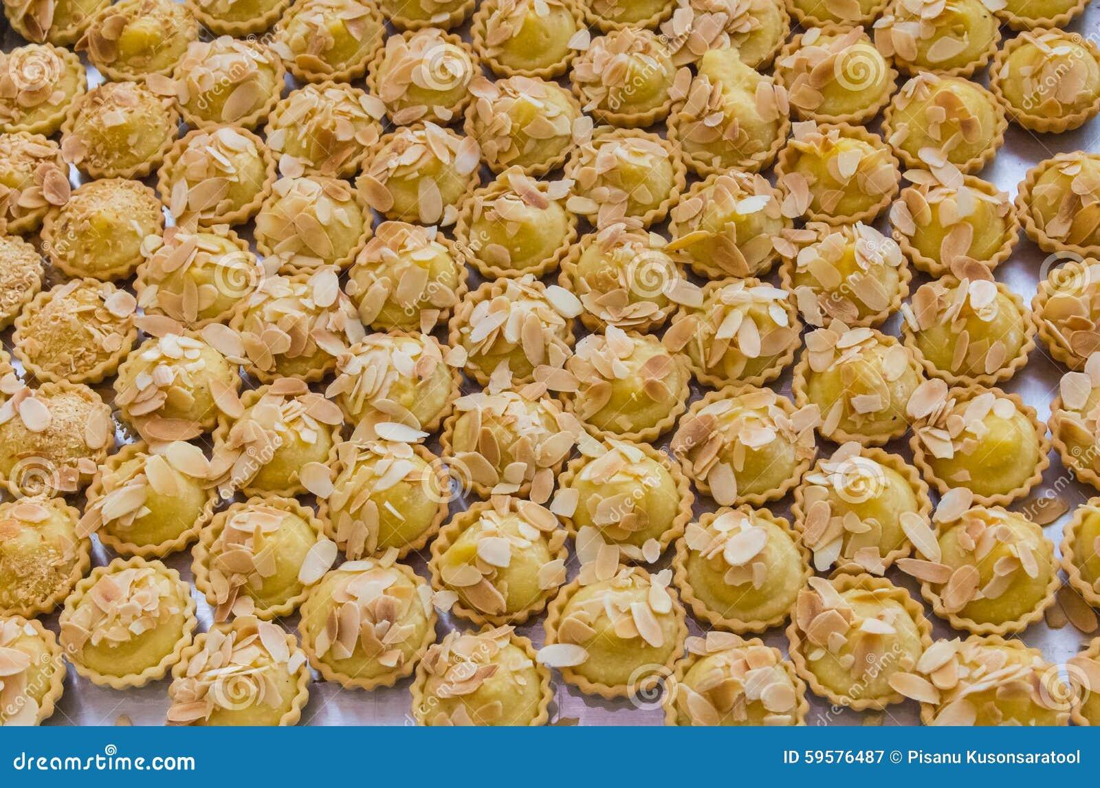 Download Almond tart stock image. Image of tarts, sweet, foods - 59576487