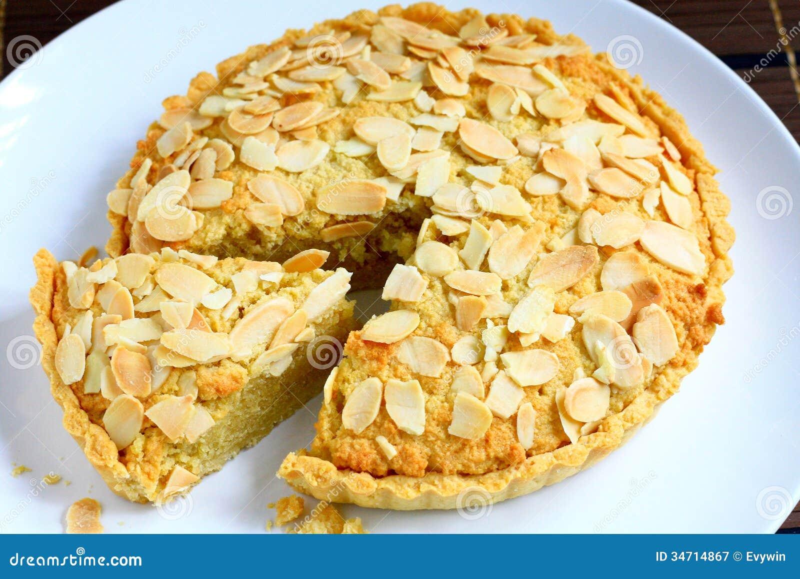 Almond Tart Royalty Free Stock Photography - Image: 34714867 Almondy Taart Glutenvrij