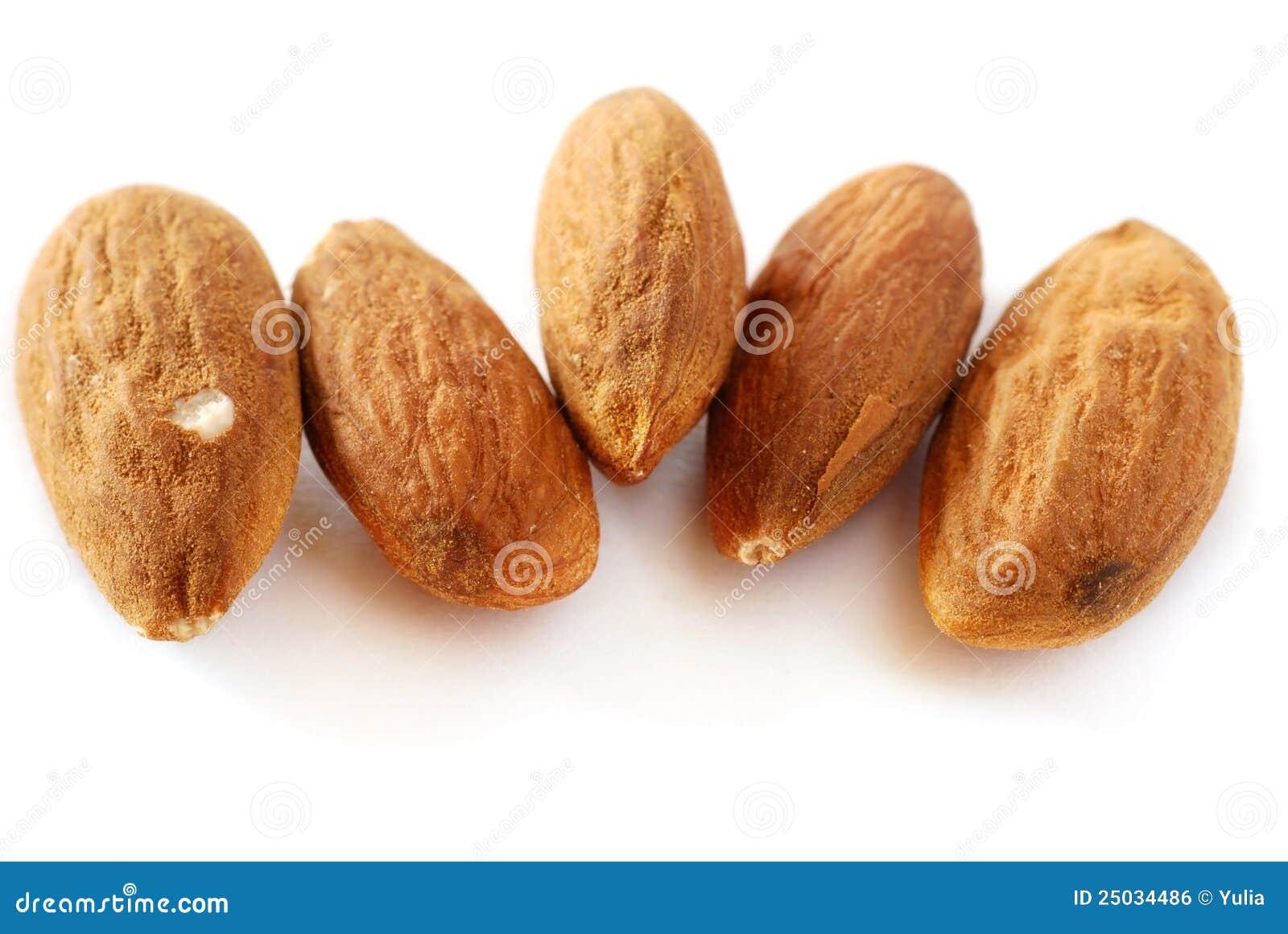 black almonds
