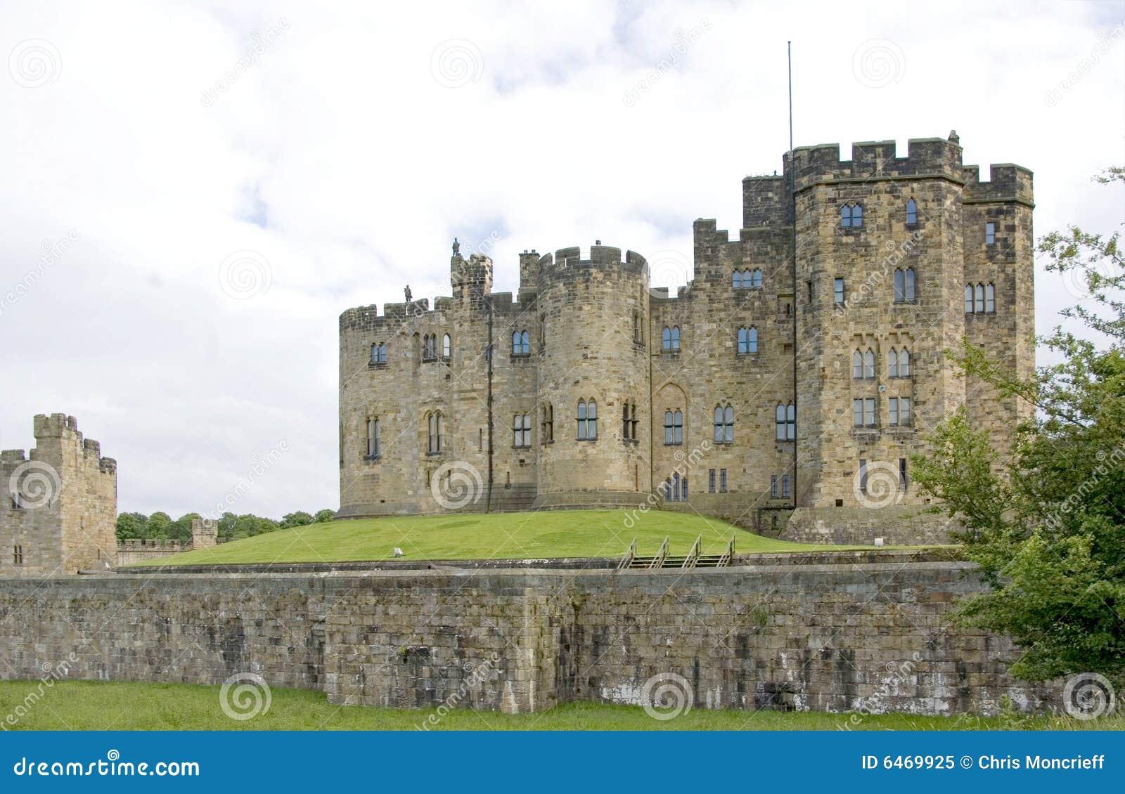 Alnwick budynku zamku main