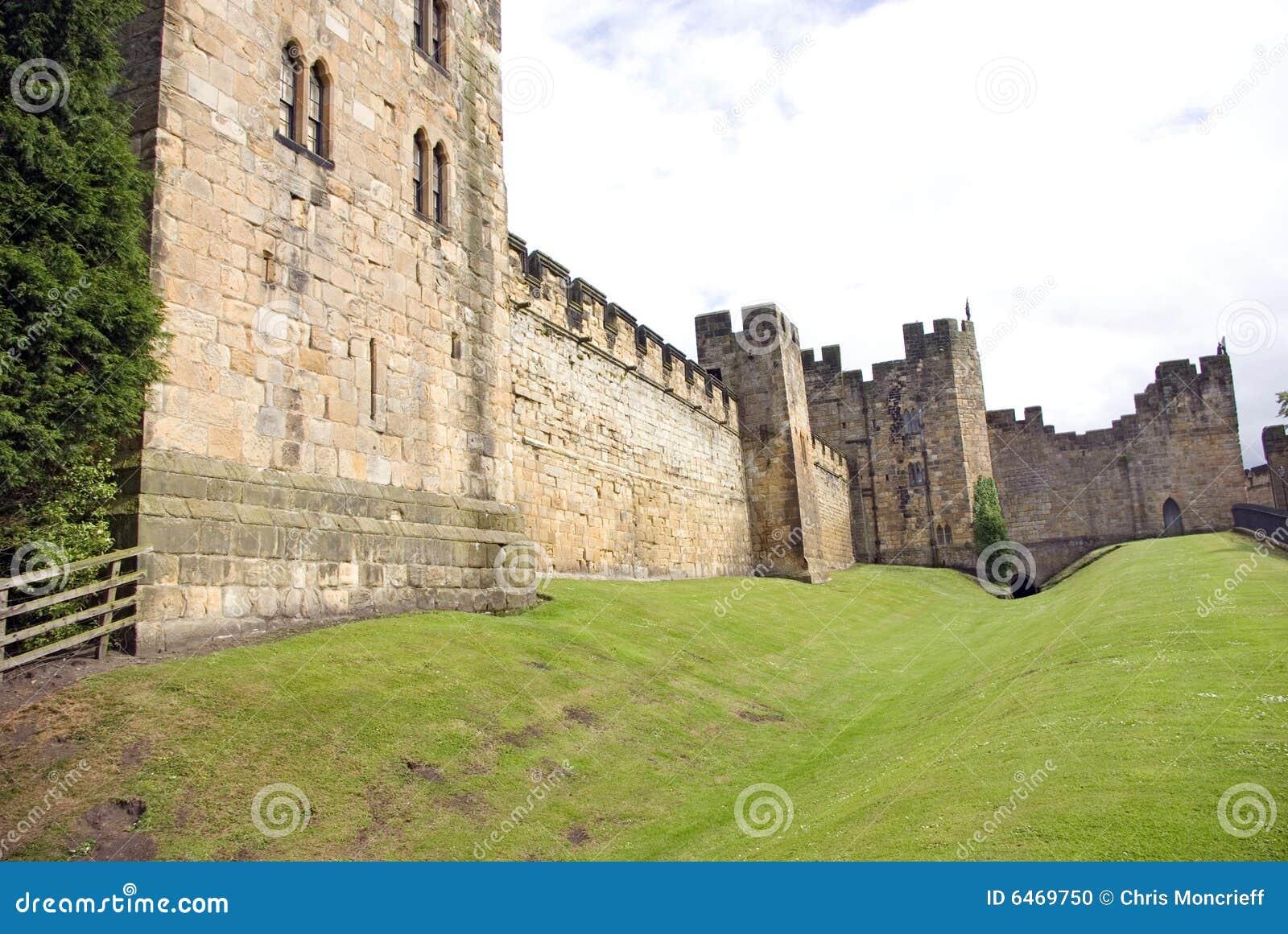 Alnwick północy do zamku