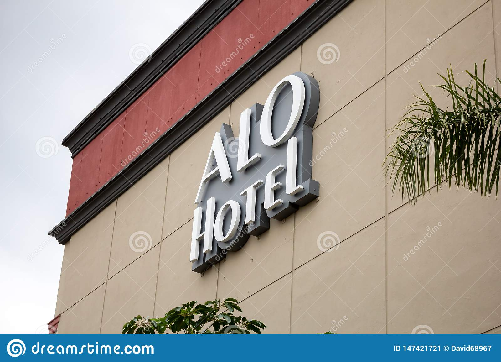 ALO Hotel sign