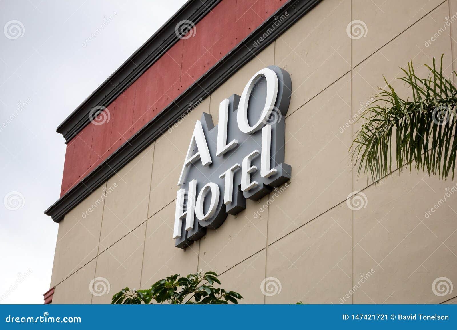 ALO Hotel tecken