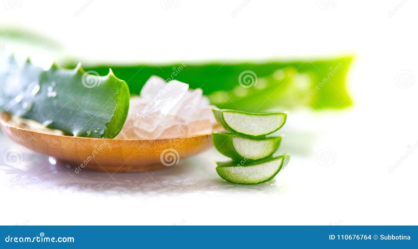 Aloesu Vera gel zbliżenie Pokrojeni Aloevera odnowienia naturalni organicznie kosmetyki, alternatywna medycyna Organicznie skinca