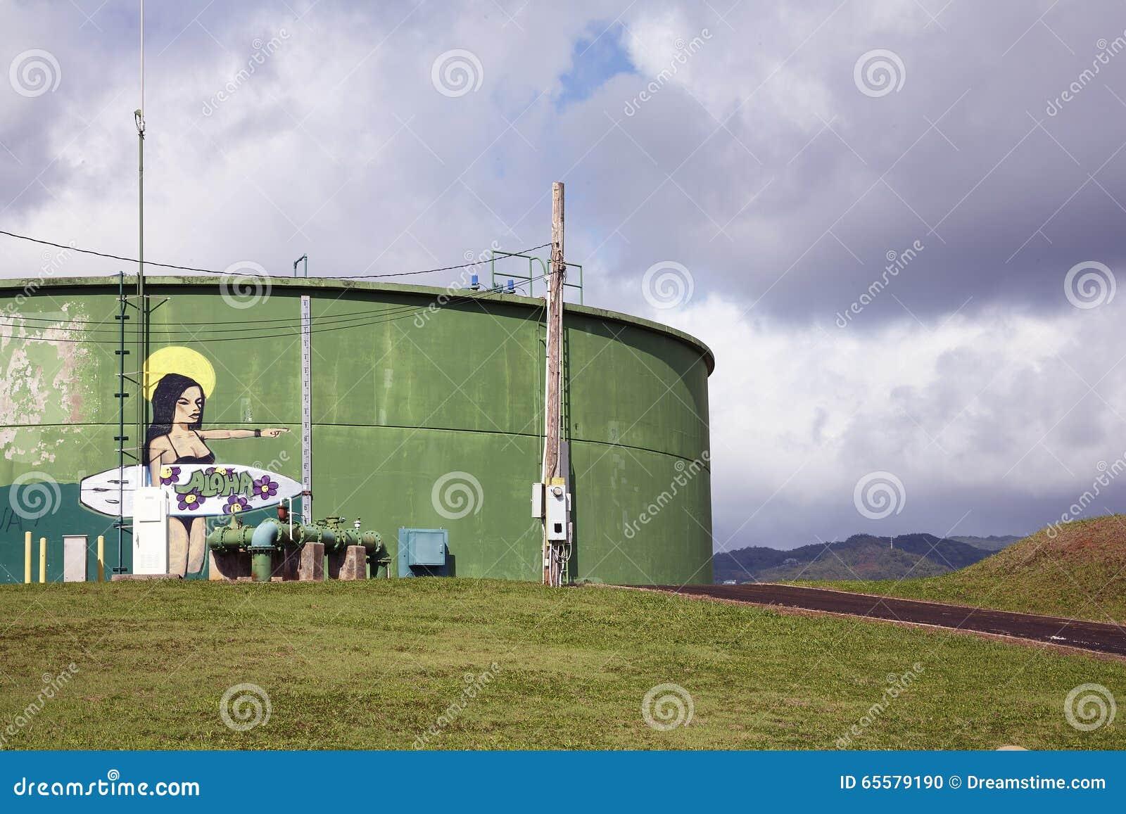Aloha grafittis da ressaca - Kauai, Havaí