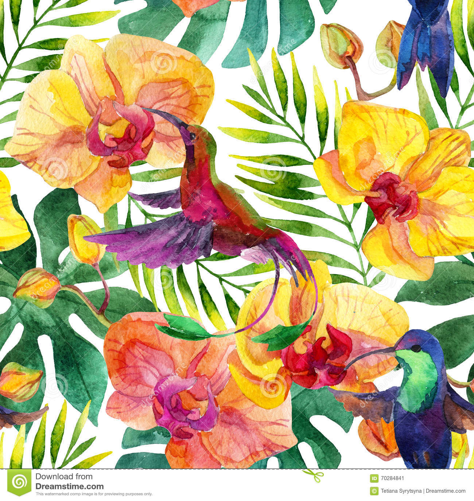 Aloha hawaiisches nahtloses Muster
