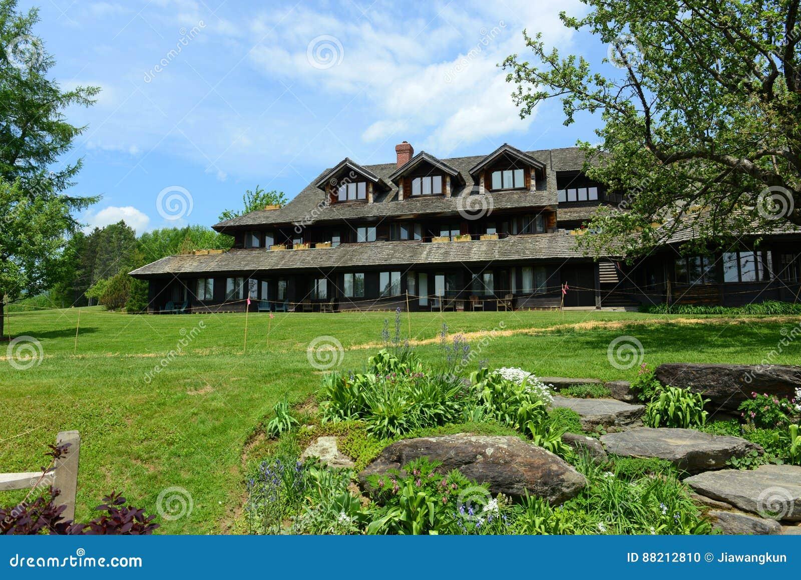Alojamento da família de Trapp, Stowe, Vermont, EUA