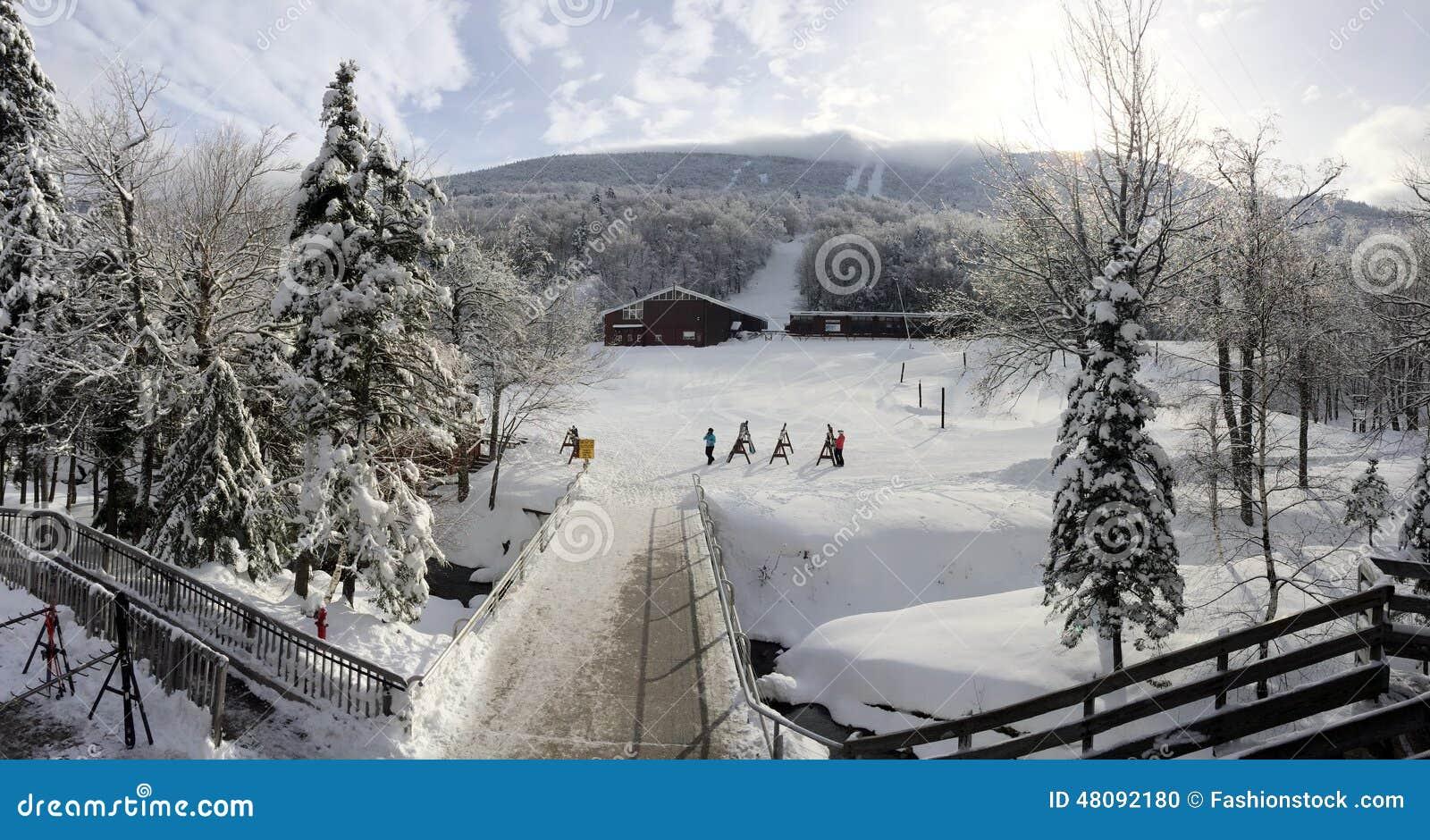 Alojamento do esqui