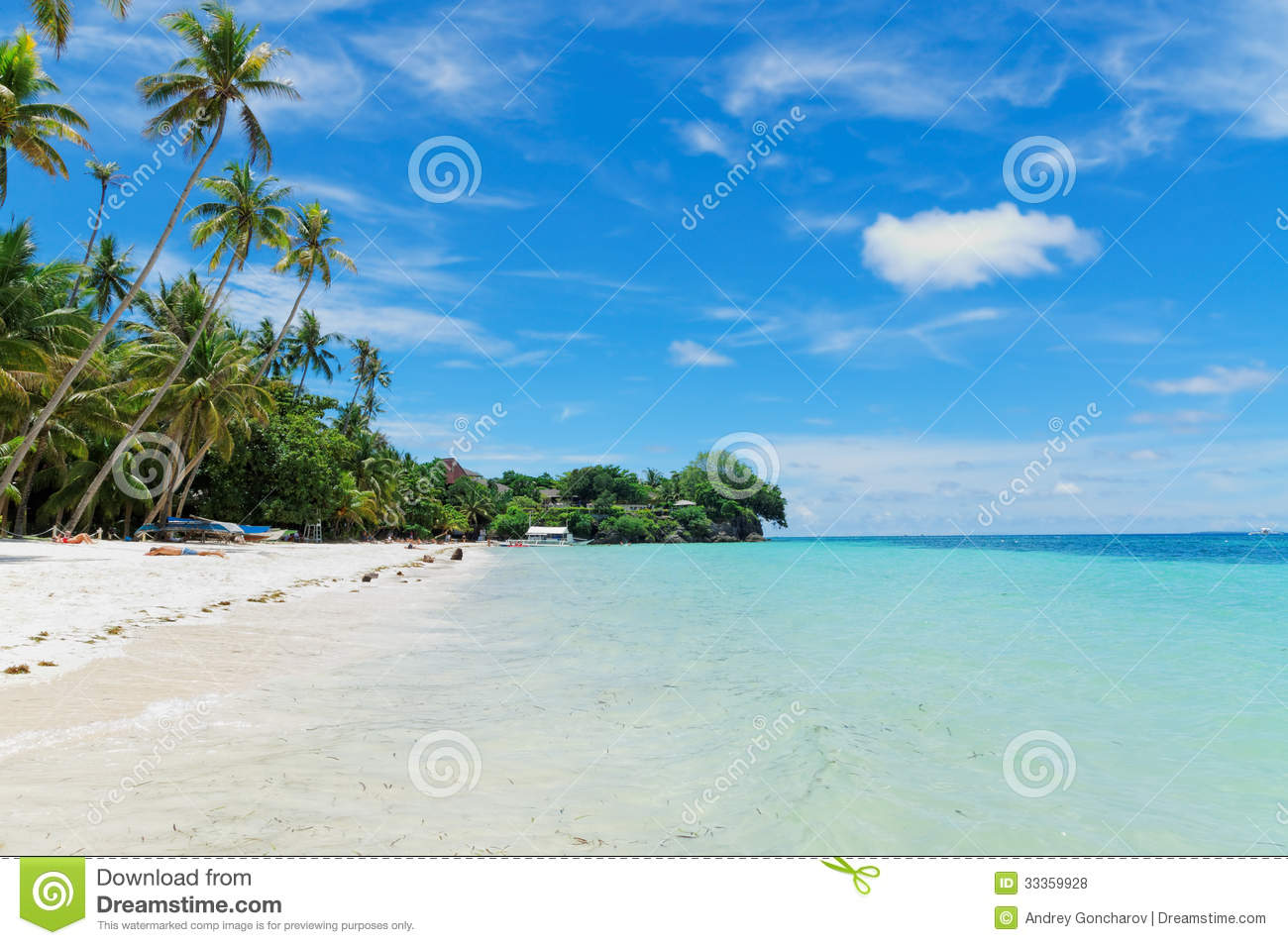 Panglao Island Philippines  city images : Alona Beach On Panglao Island, Philippines Editorial Stock Photo ...